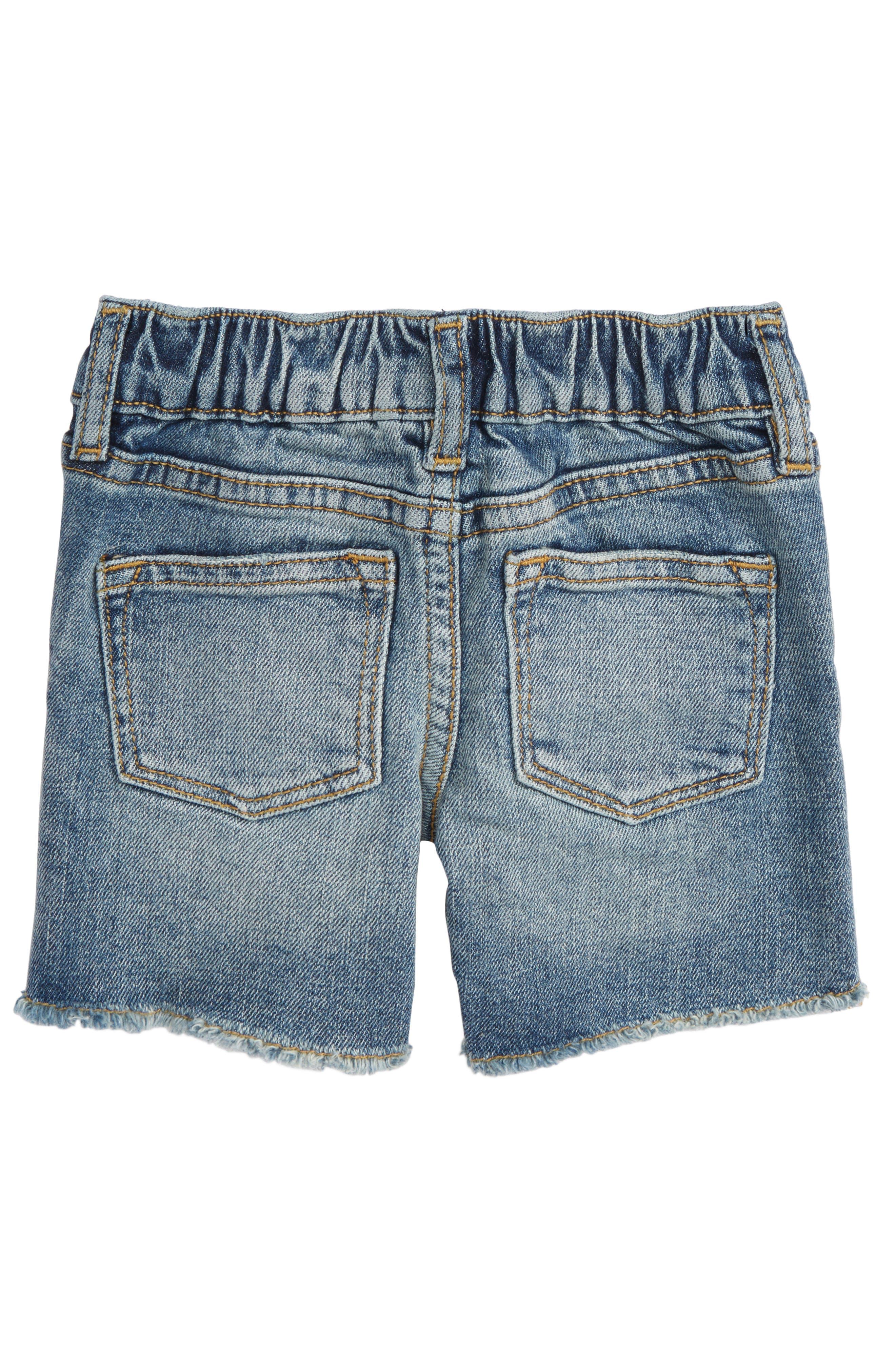 Alternate Image 2  - Peek Fairfax Denim Shorts (Baby Boys)