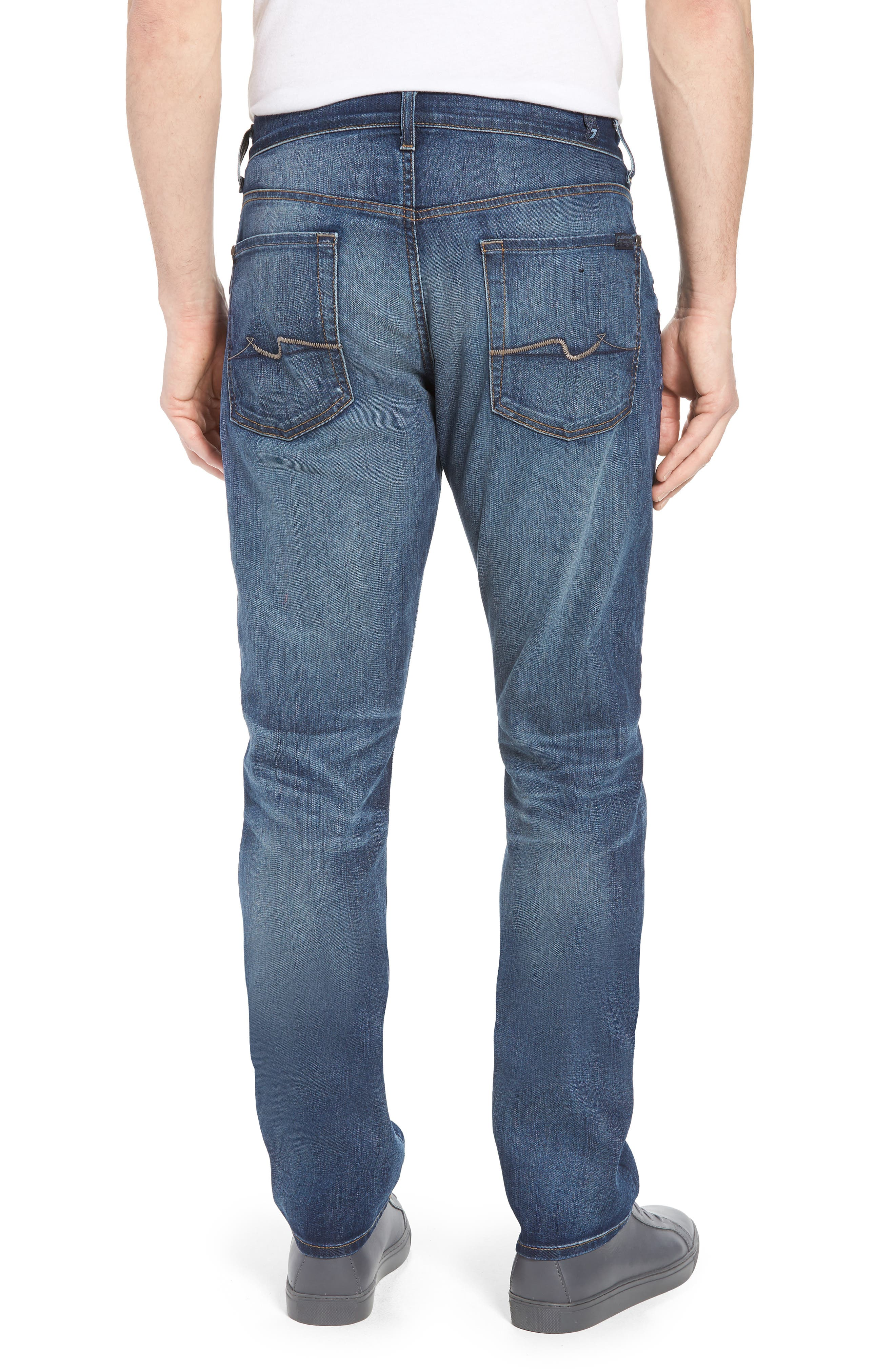 The Straight Slim Straight Leg Jeans,                             Alternate thumbnail 2, color,                             Recon