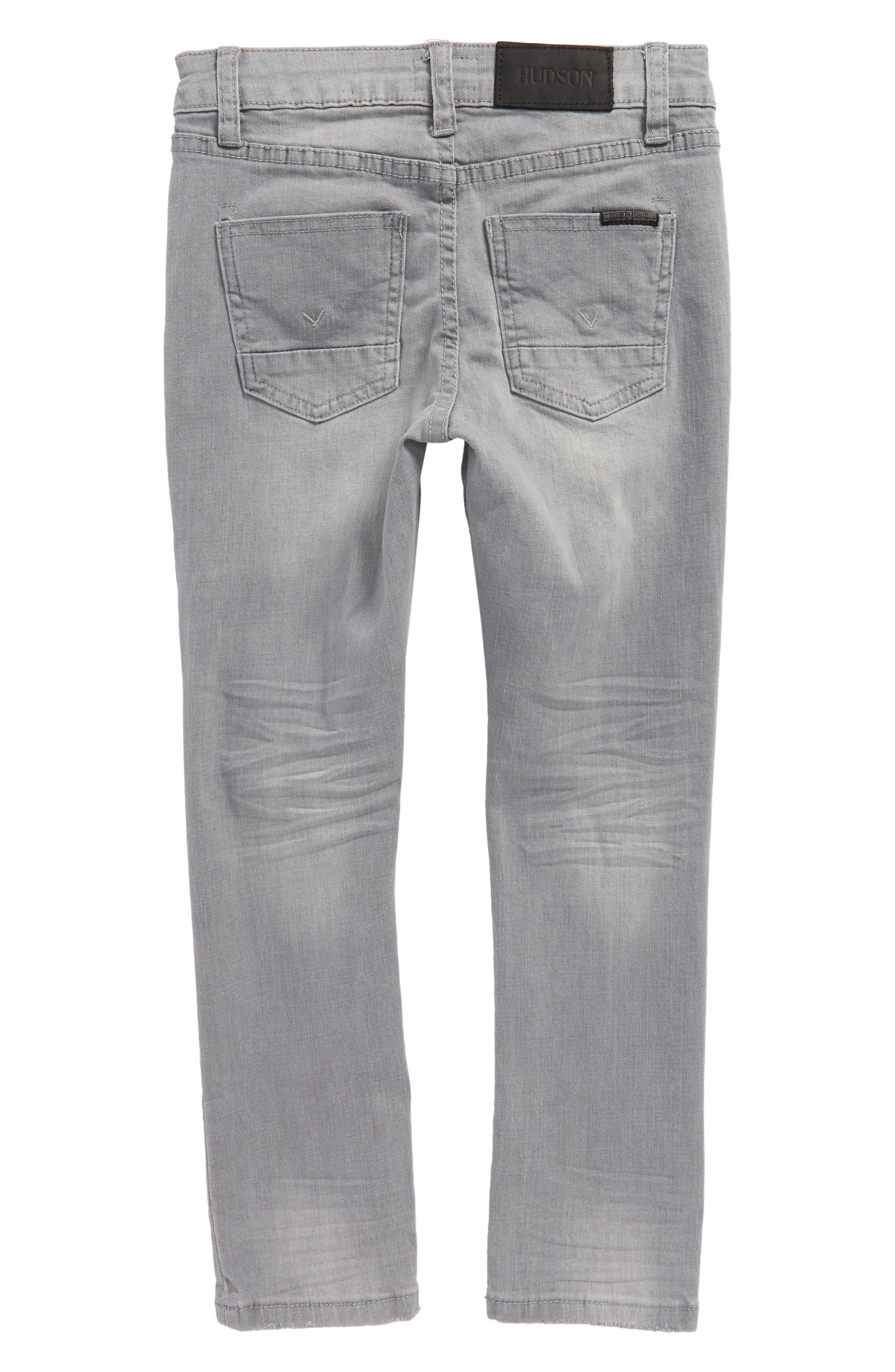 Jude Slim Fit Skinny Jeans,                             Alternate thumbnail 2, color,                             Ice Grey
