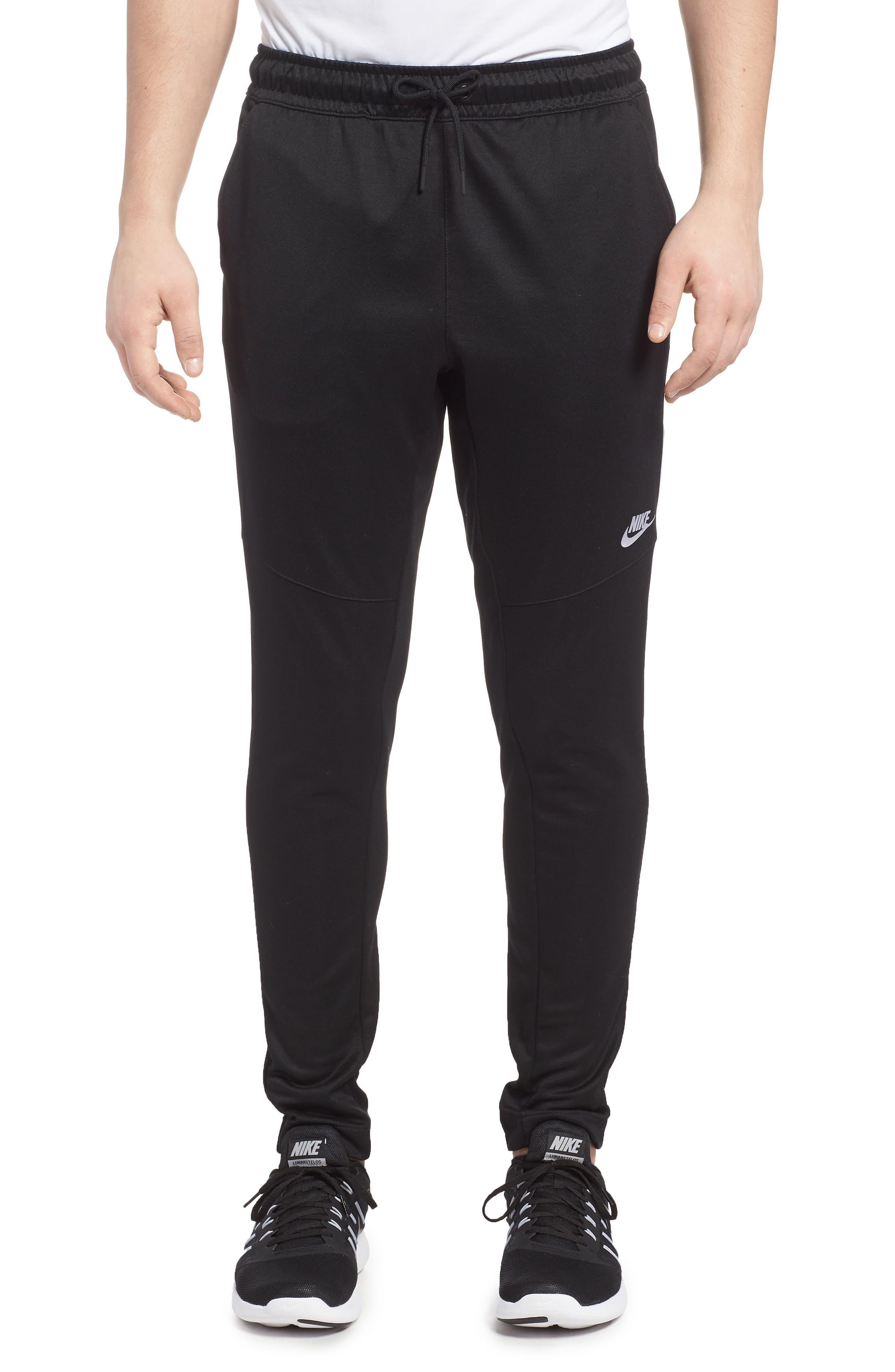NSW Tribute Jogger Pants,                         Main,                         color, Black/ White/ White