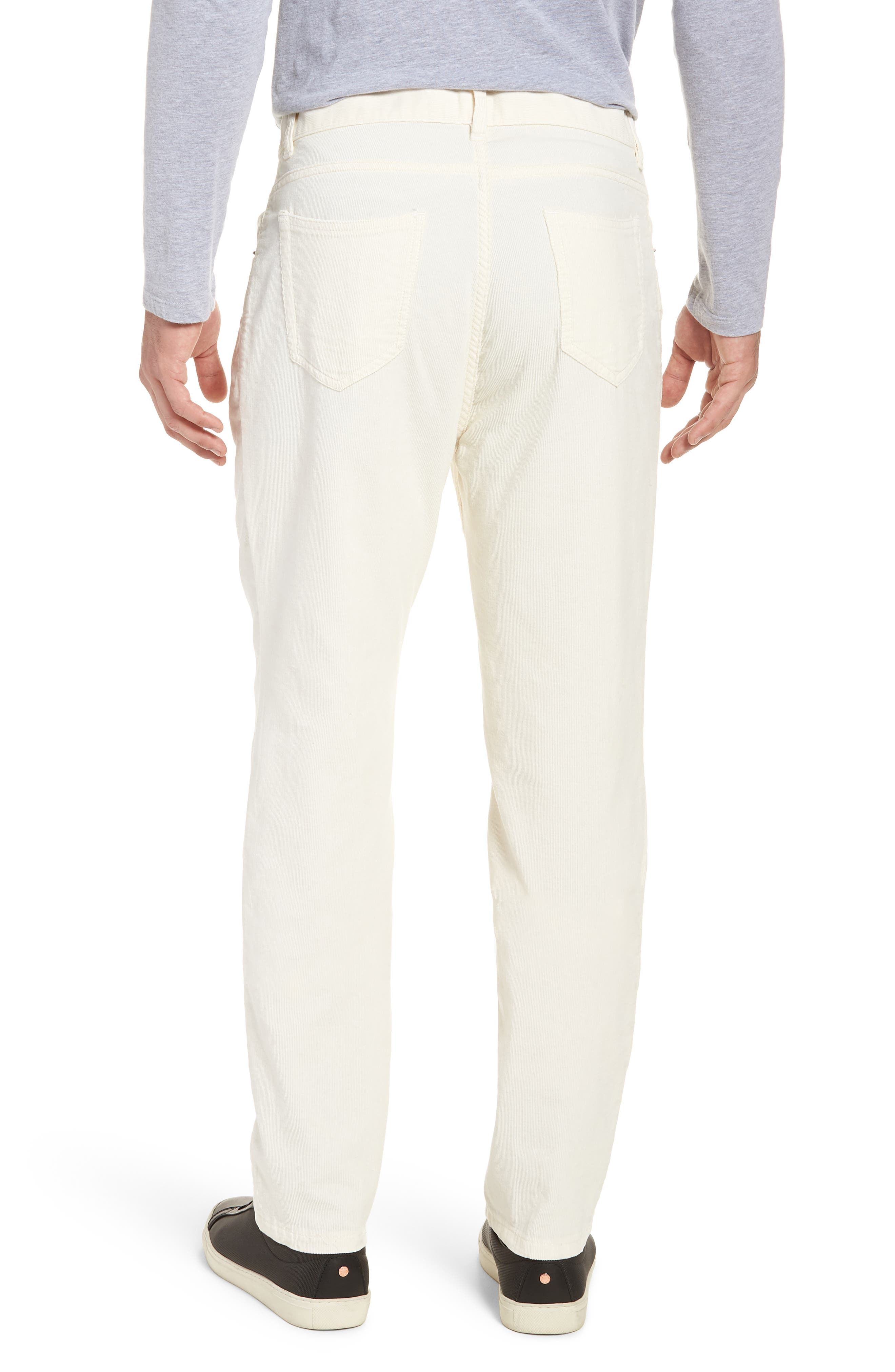 Q Cord Trousers,                             Alternate thumbnail 2, color,                             Natural