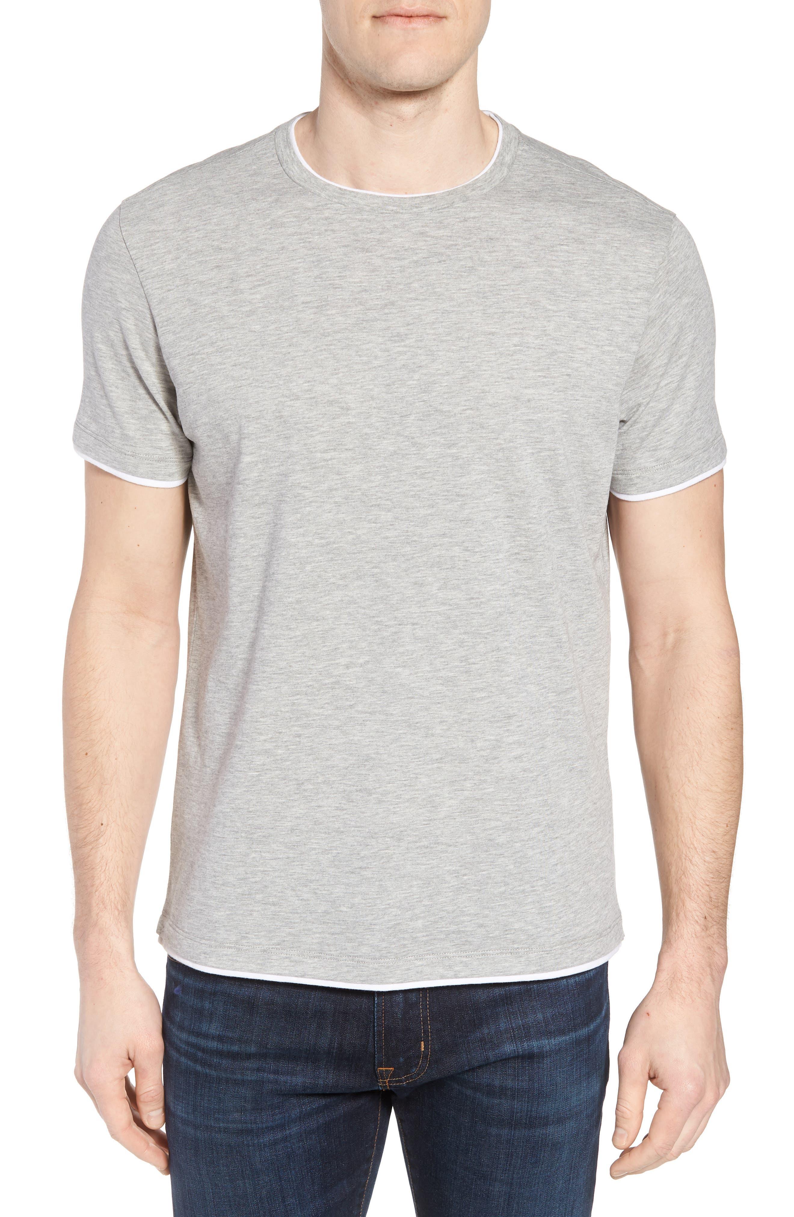 Halifax Crewneck T-Shirt,                         Main,                         color, Light Grey
