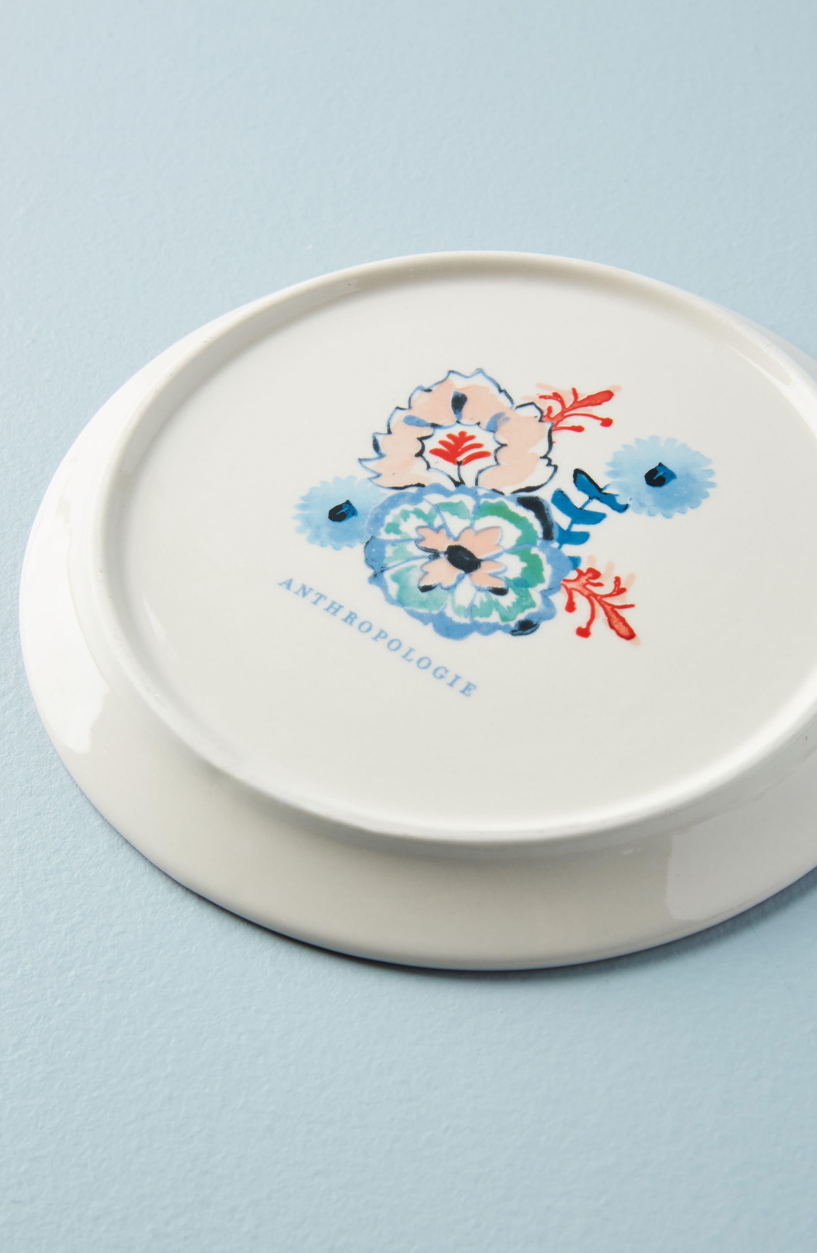 Eres Butter Dish,                             Alternate thumbnail 2, color,                             Blue Multi