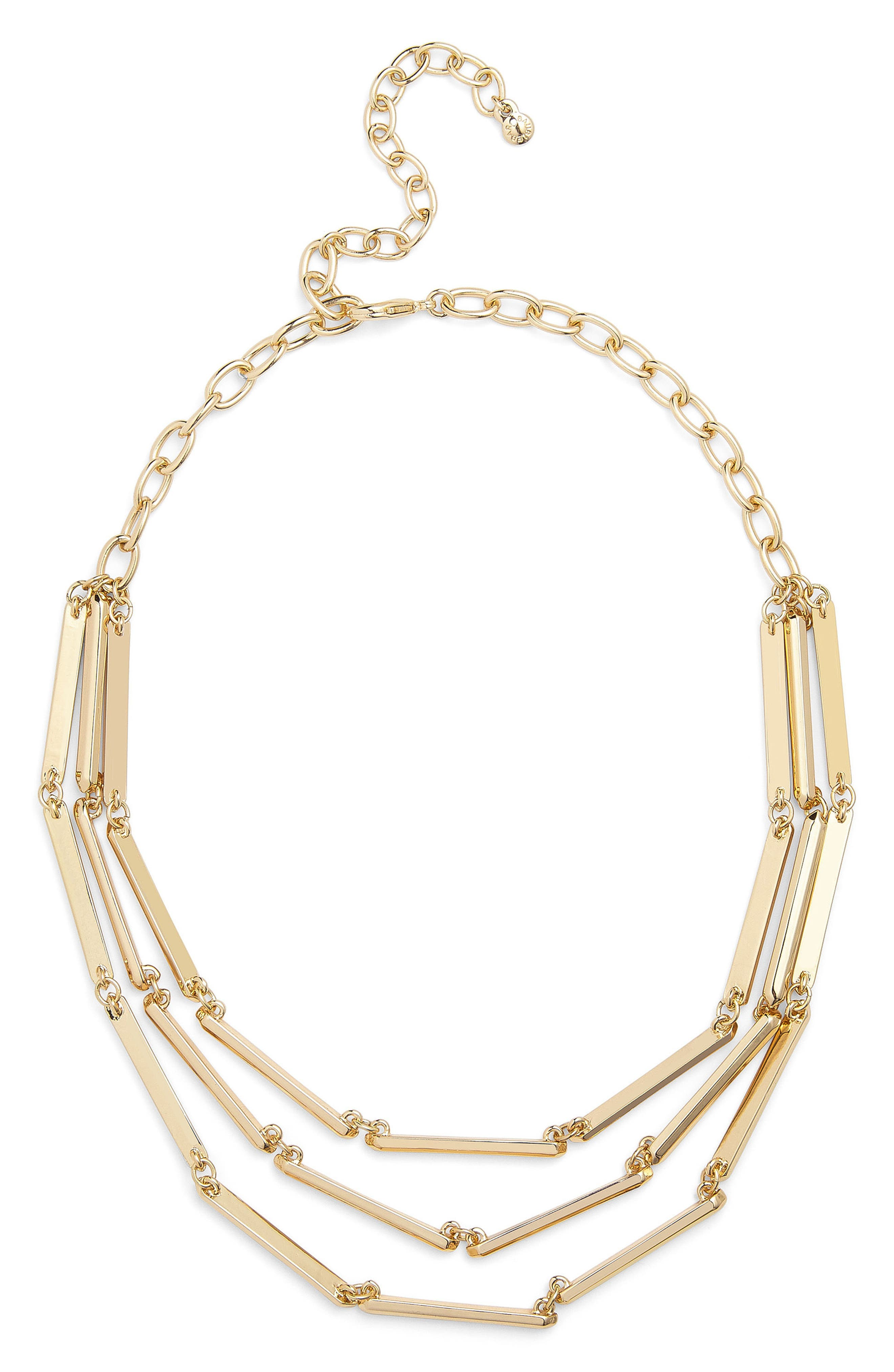 Payla Multistrand Necklace,                         Main,                         color, Gold