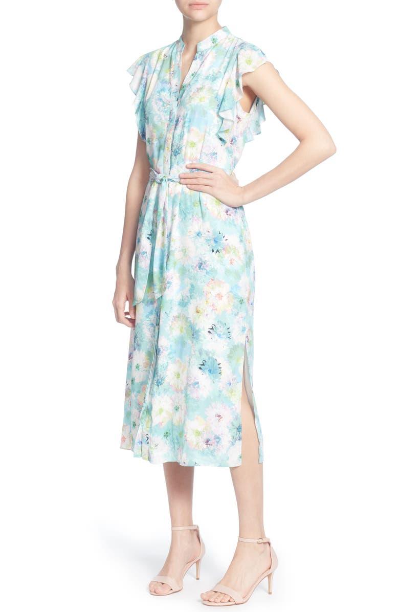 Fredda Print Midi Dress