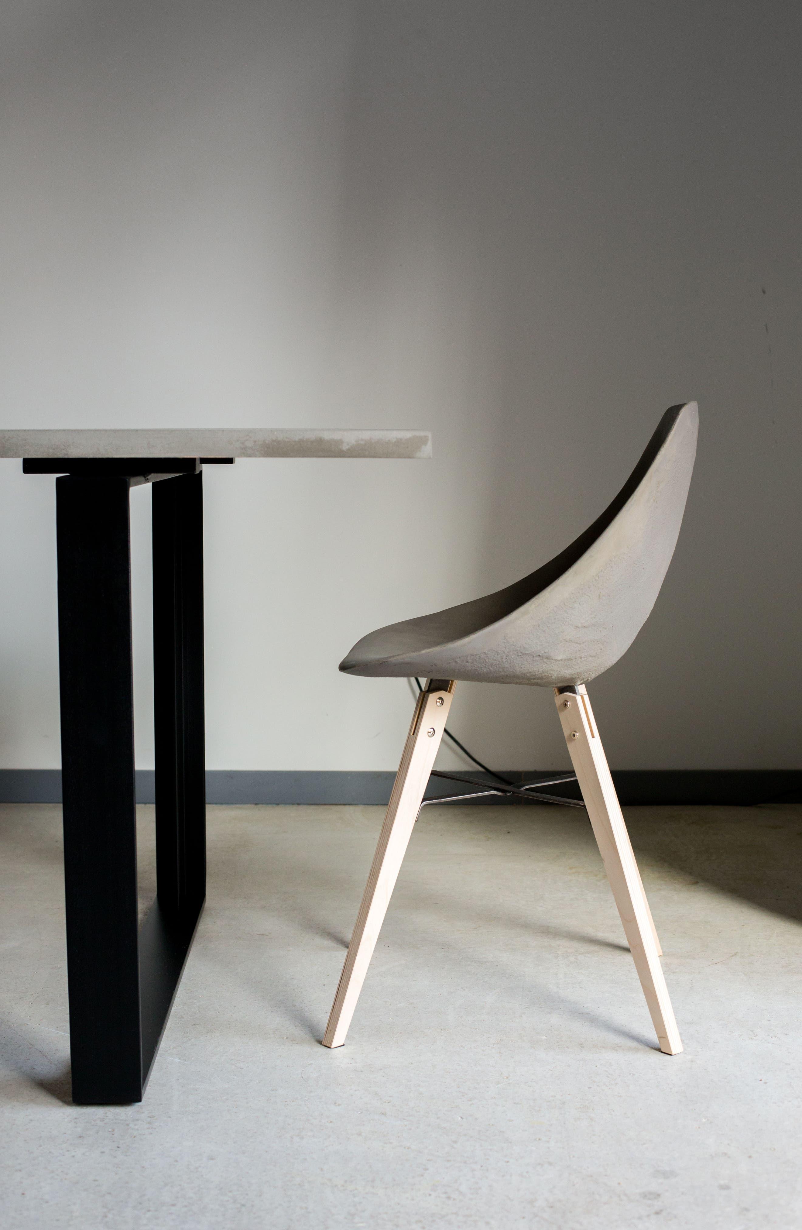 Lyon Béton Hauteville Chair,                             Alternate thumbnail 4, color,