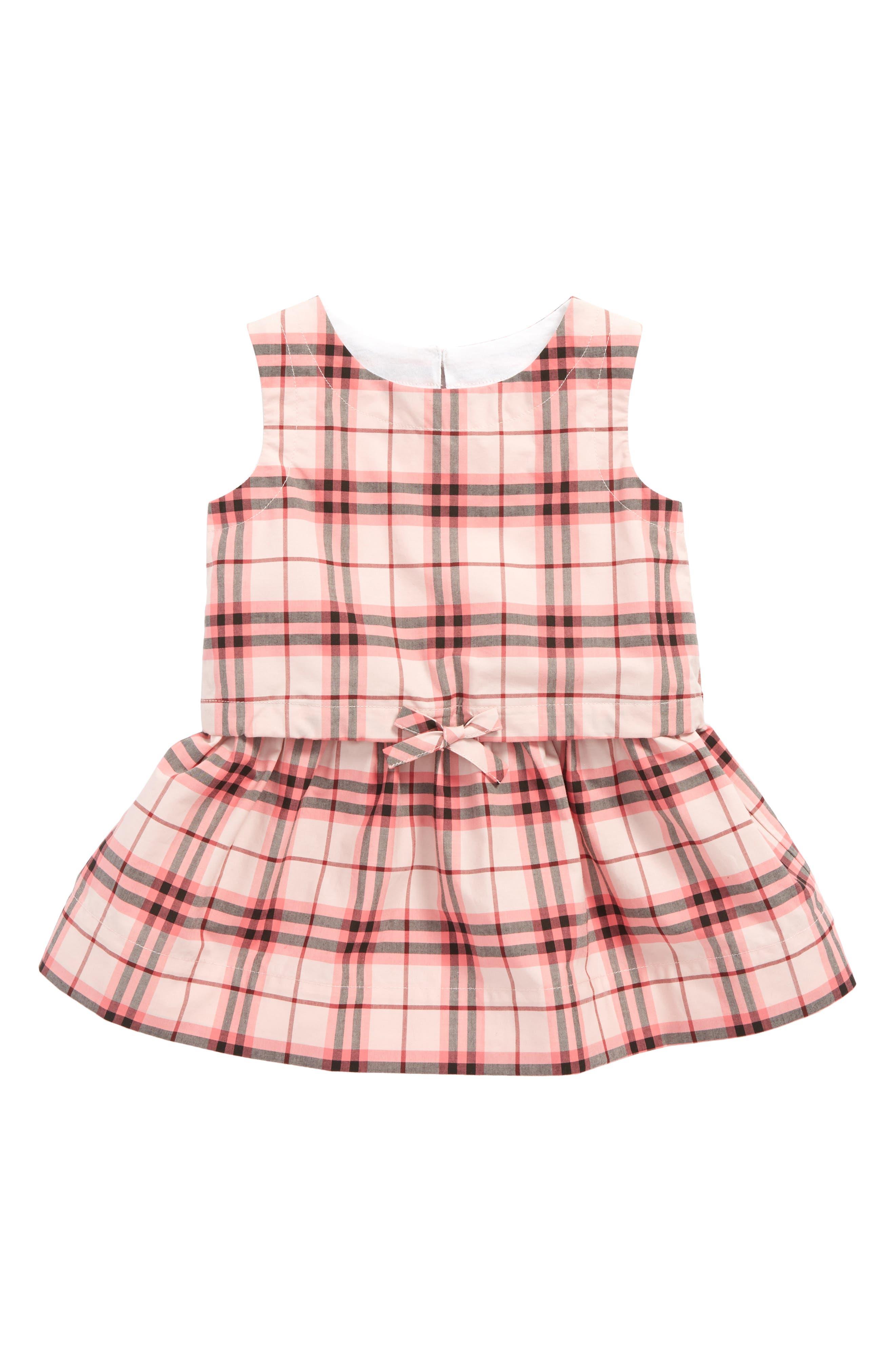 Burberry Mabel Check Dress (Baby Girls)