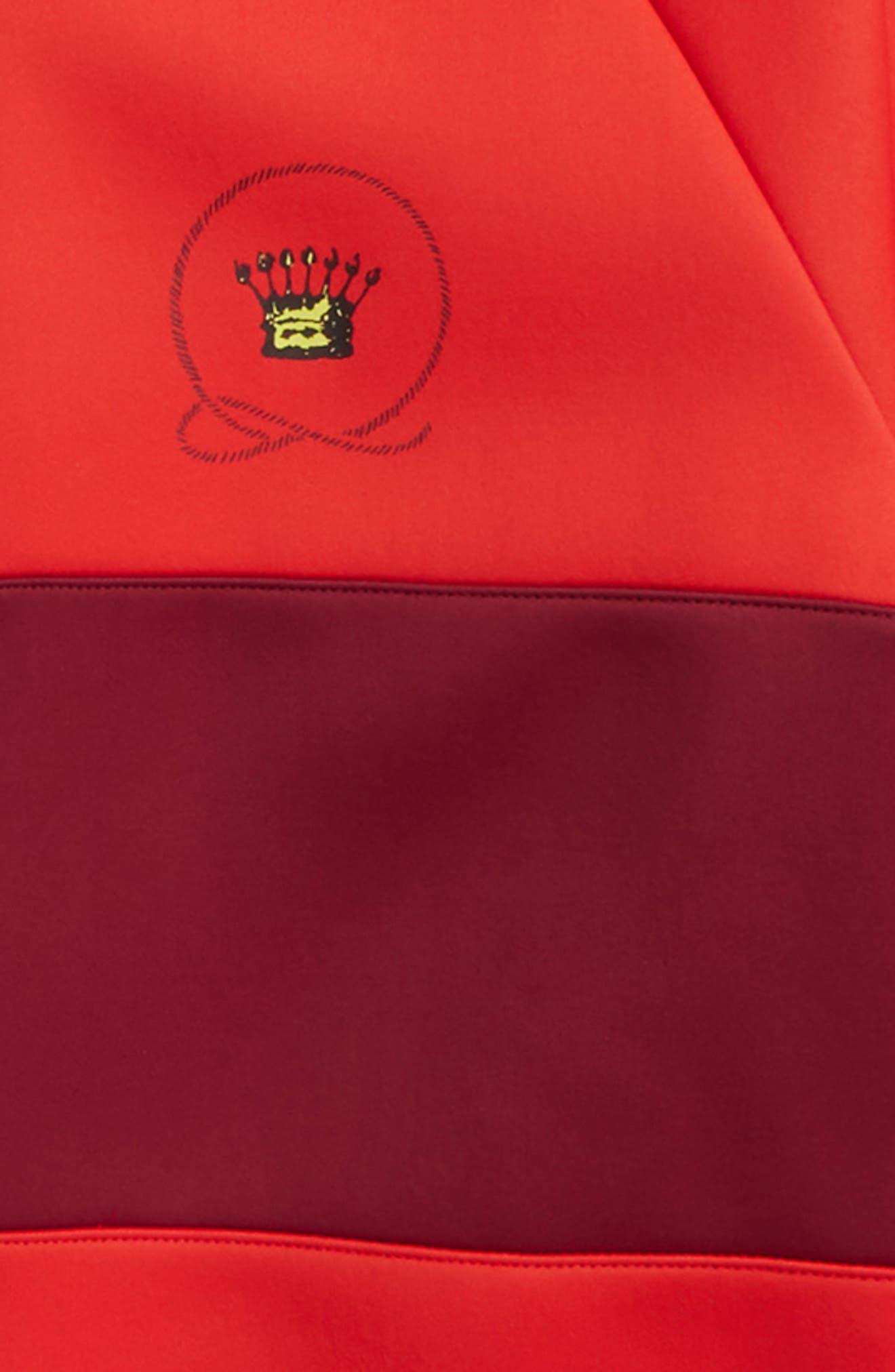 Berni Logo Track Jacket,                             Alternate thumbnail 2, color,                             Bright Red