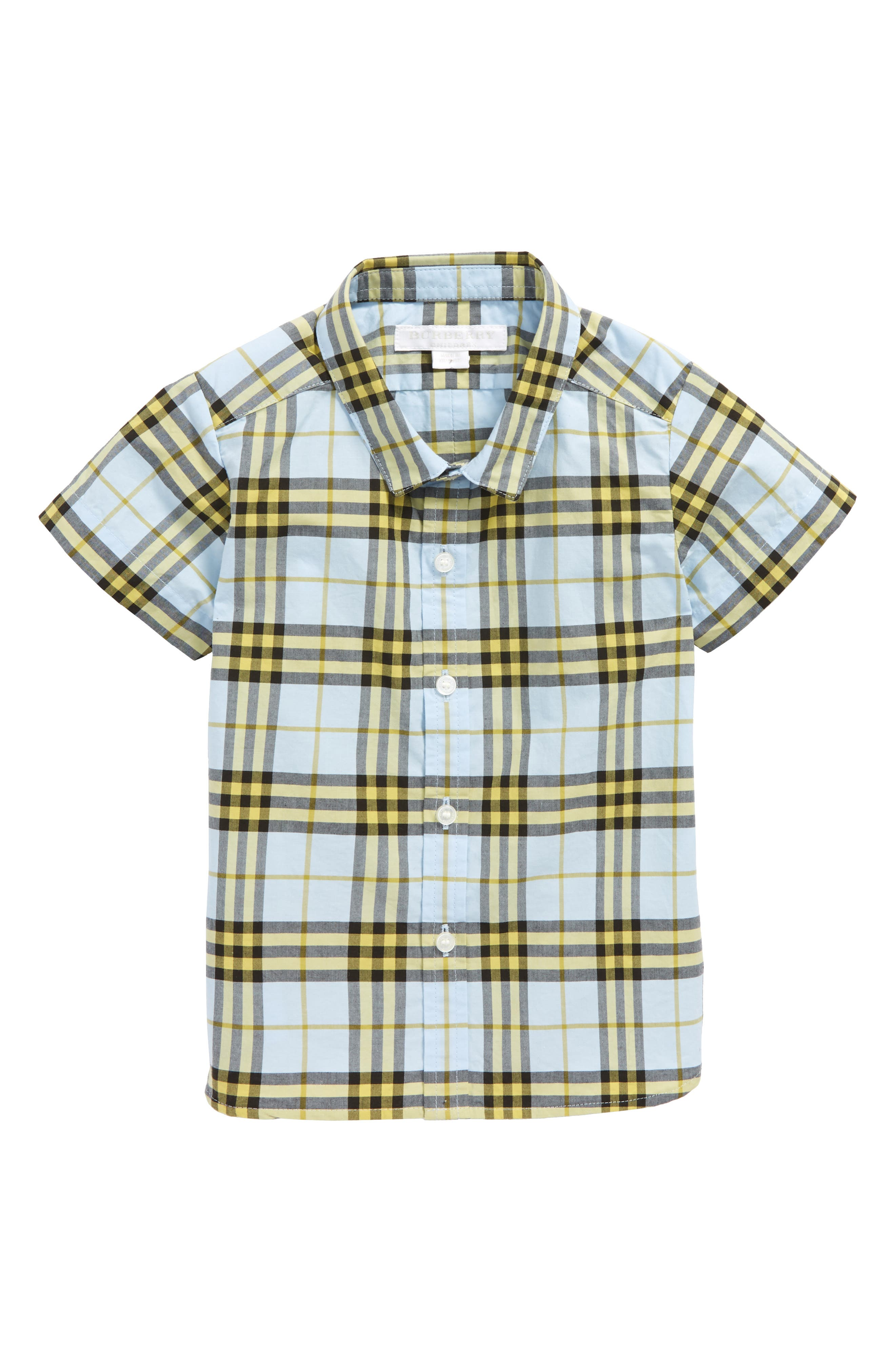 Burberry Clarkey Plaid Woven Shirt (Baby Boys)
