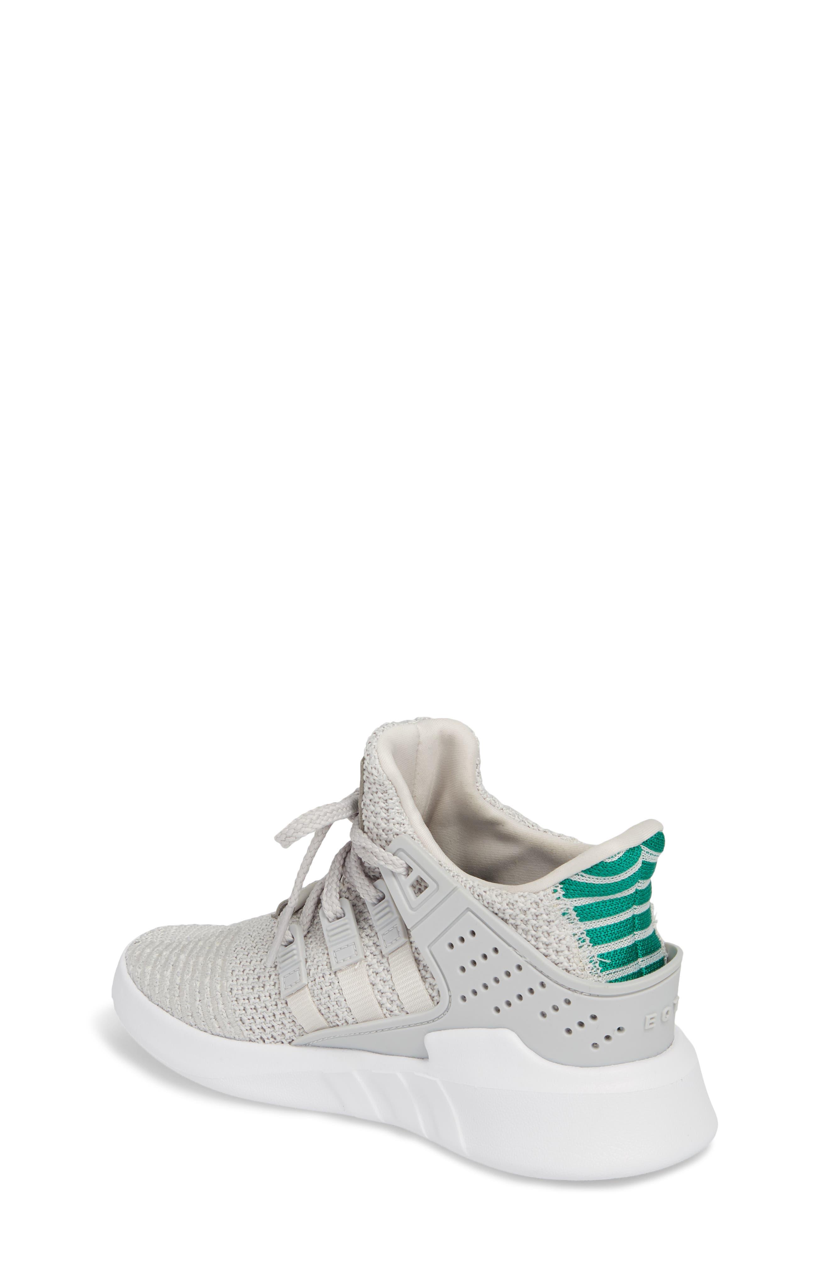 EQT Basketball ADV I Sneaker,                             Alternate thumbnail 2, color,                             Grey / Grey / Green