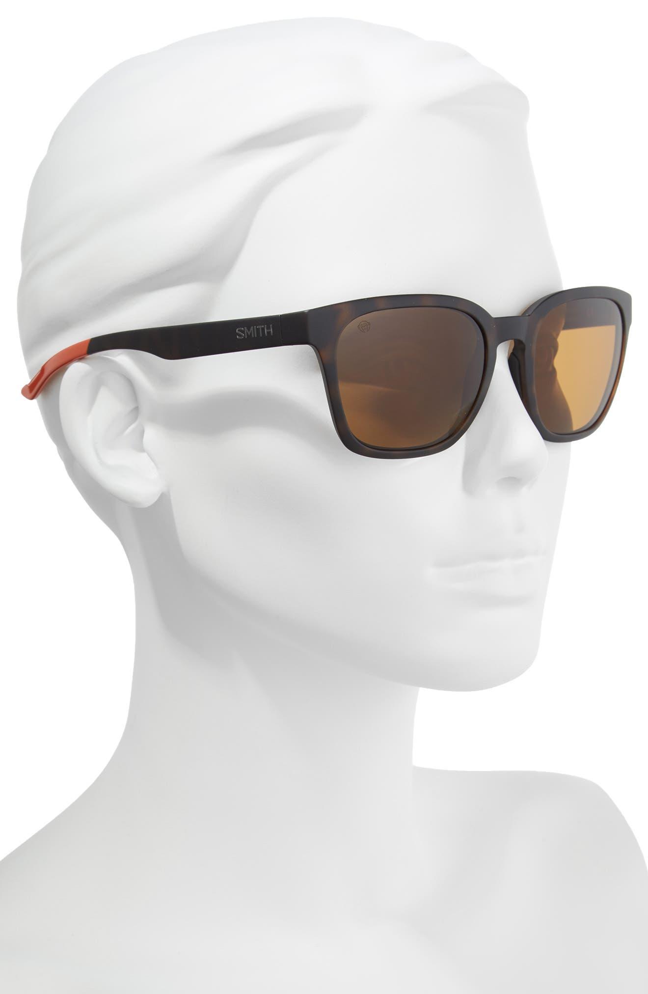 Founder 56mm ChromaPop Polarized Sunglasses,                             Alternate thumbnail 2, color,                             Howler Matte Tortoise
