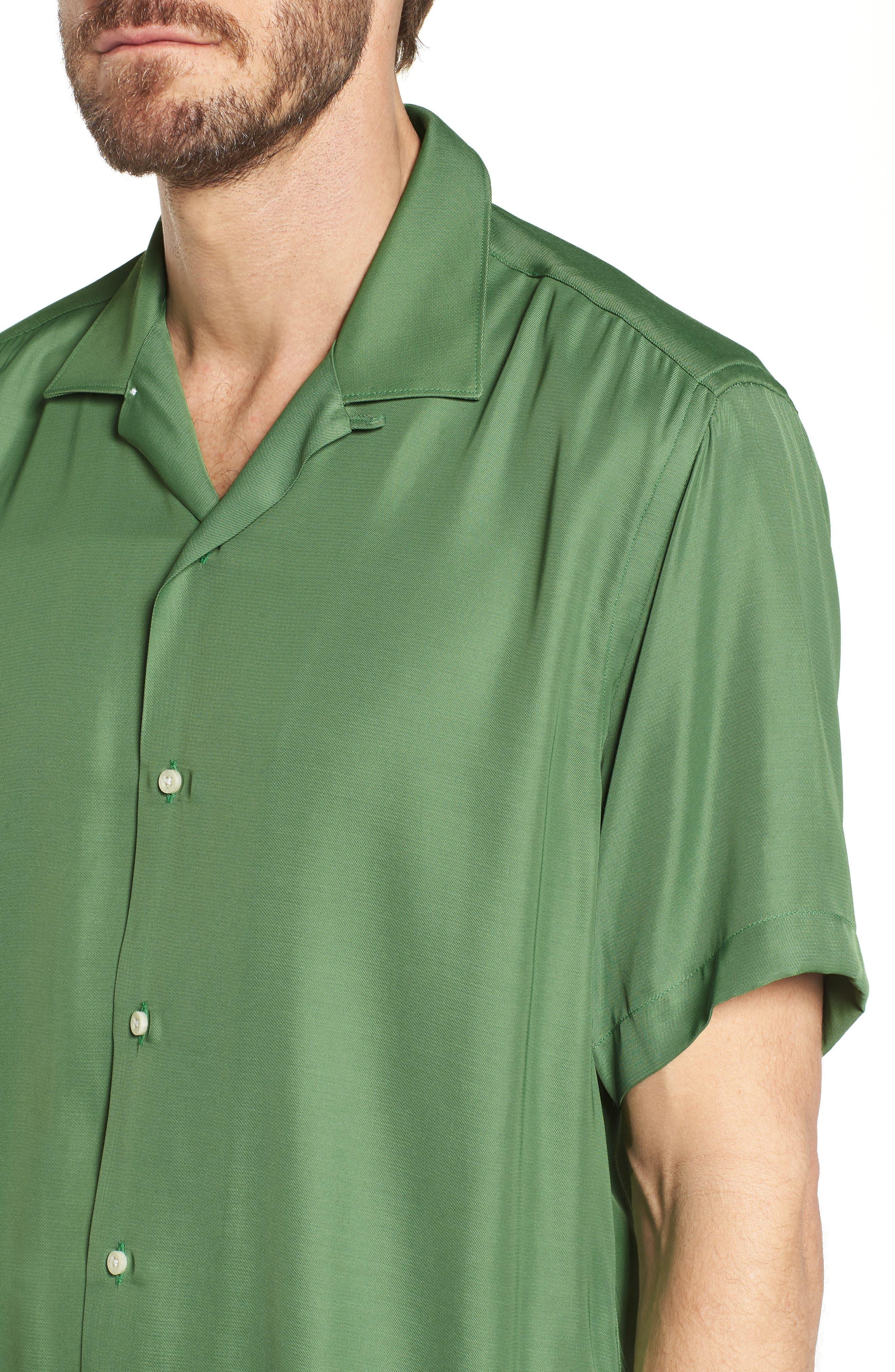 Alternate Image 4  - Gitman Camp Shirt
