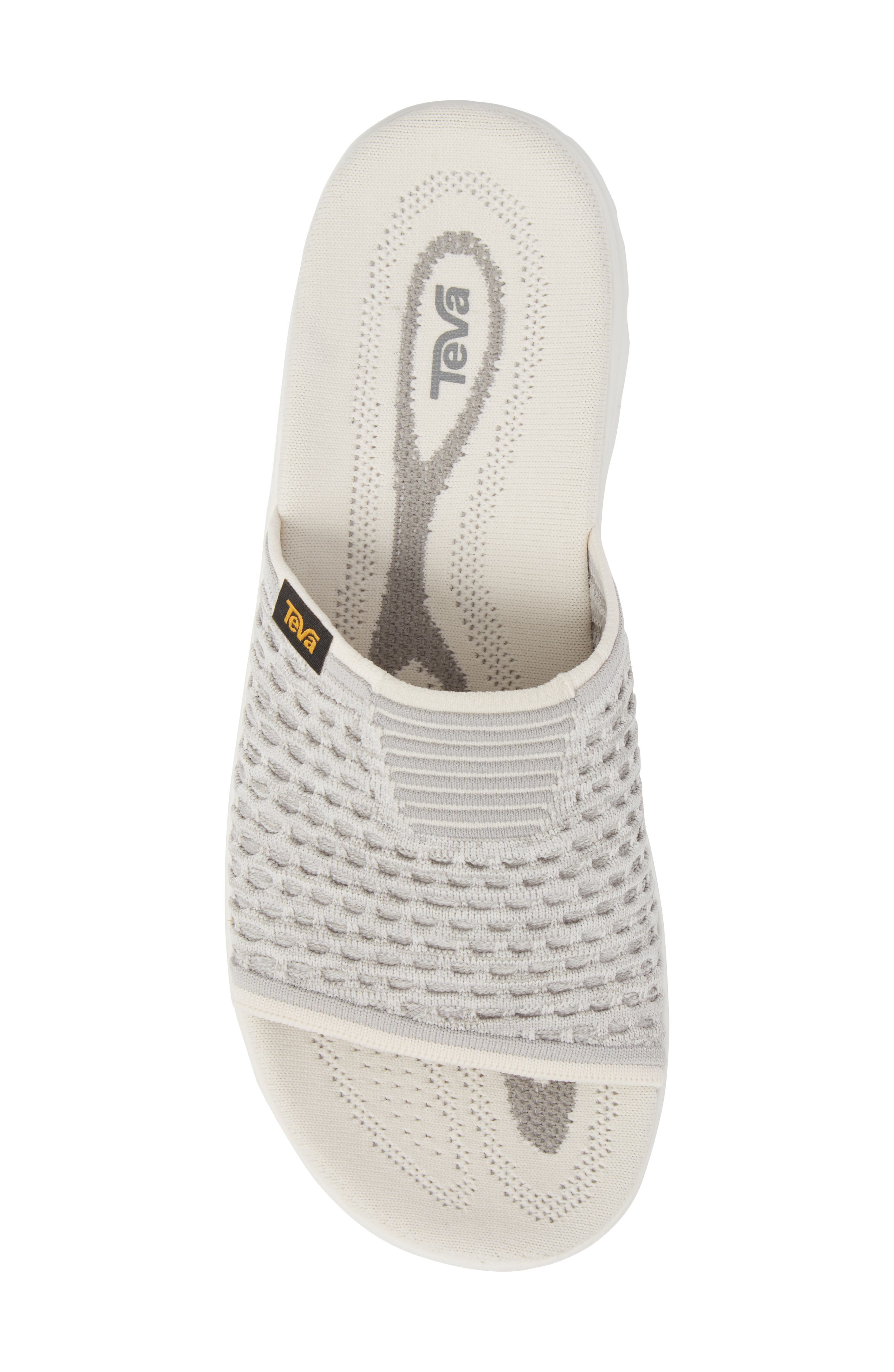 Terra-Float 2 Knit Slide Sandal,                             Alternate thumbnail 5, color,                             Bright White
