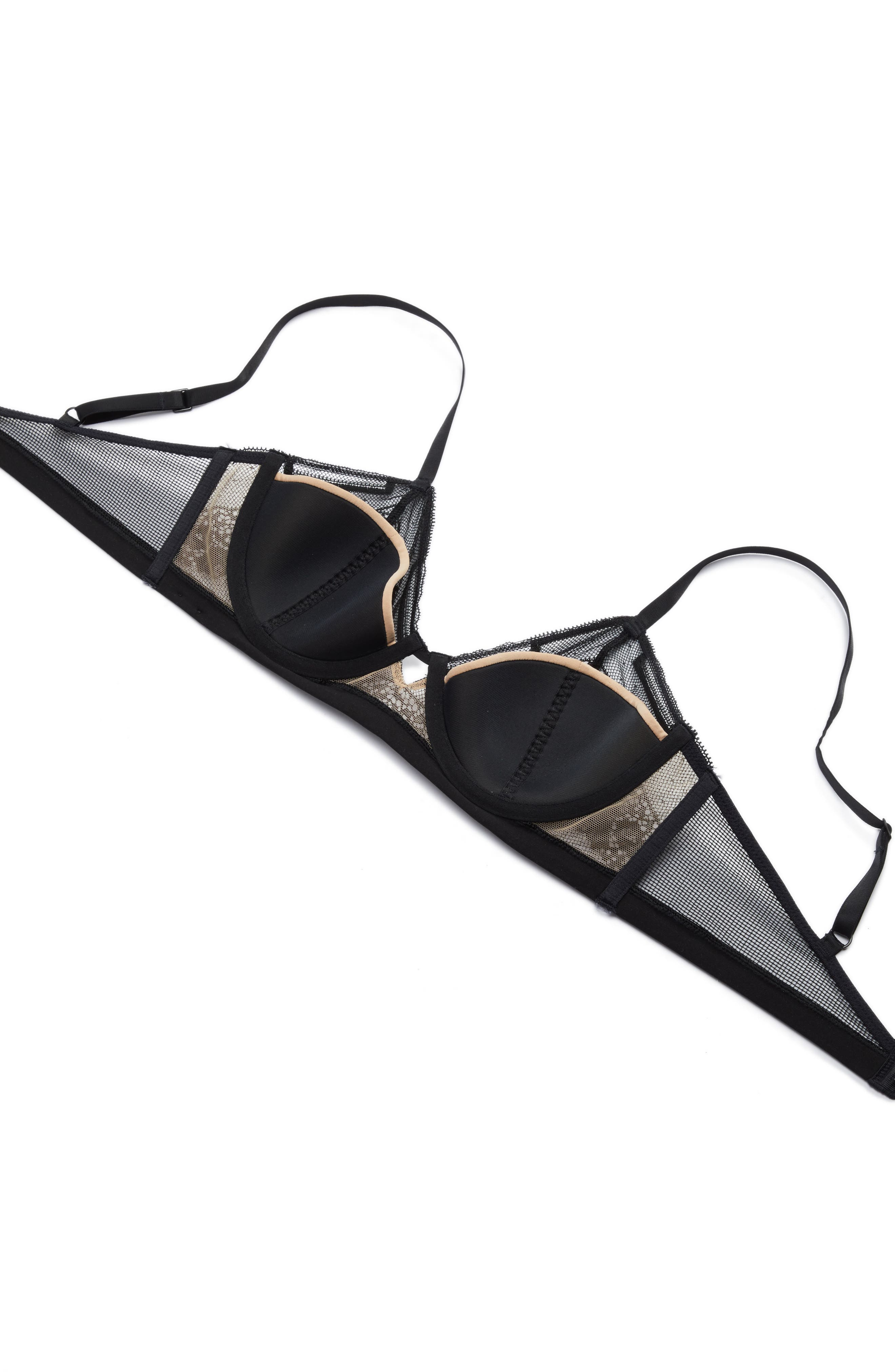 Alternate Image 5  - Calvin Klein Lace Triangle Bralette