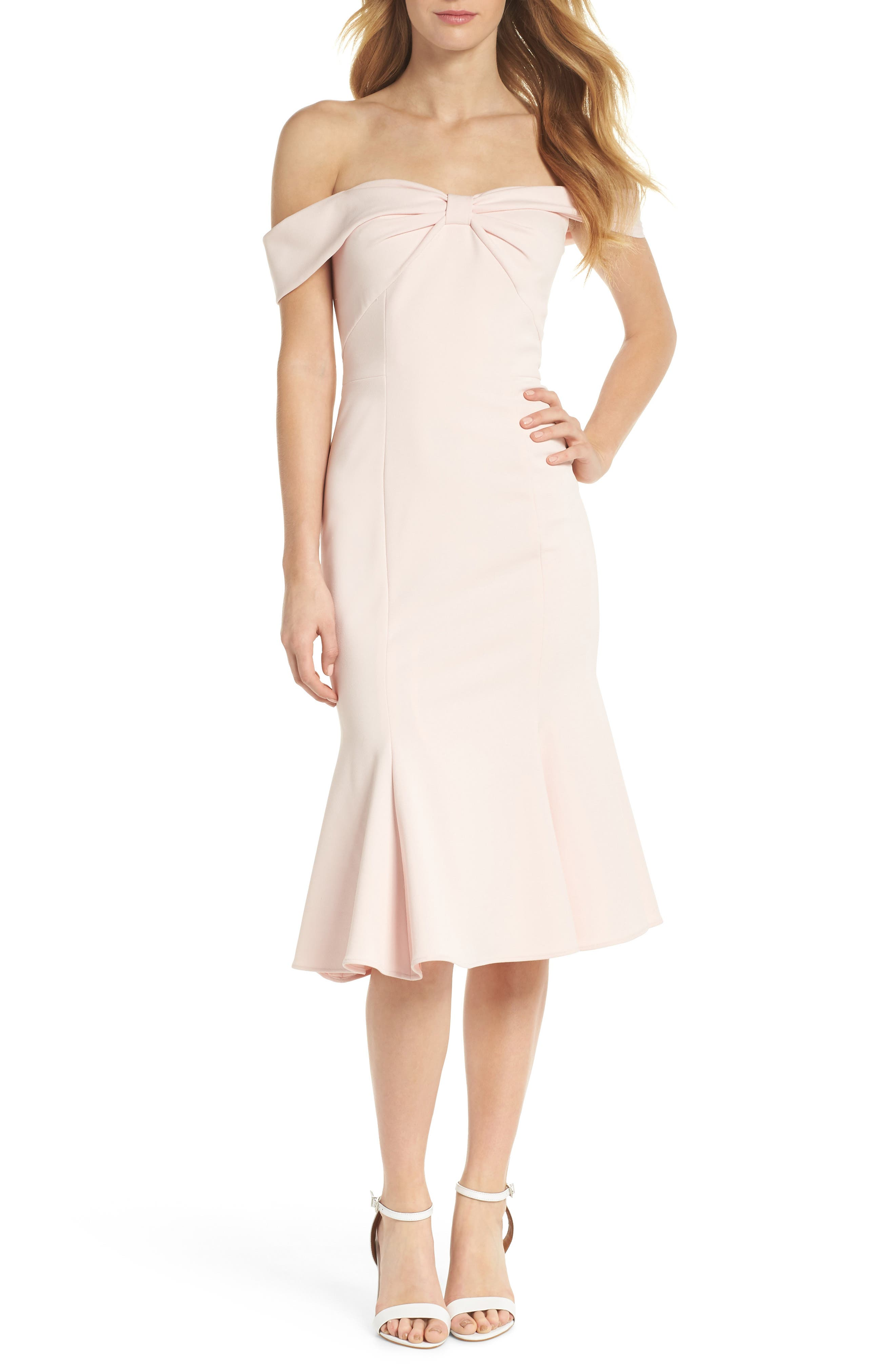 Pink cocktail party dresses nordstrom ombrellifo Images