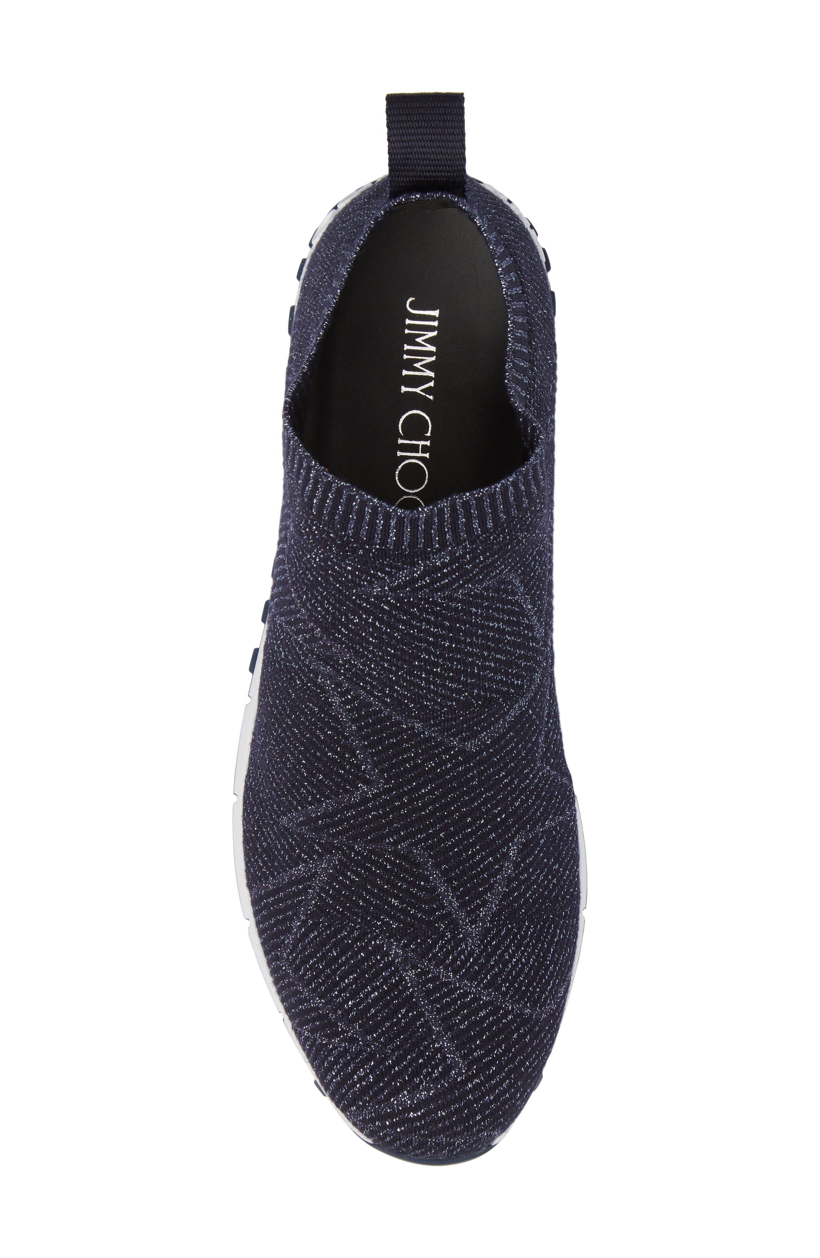 Norway Star Slip-On Sneaker,                             Alternate thumbnail 5, color,                             Navy