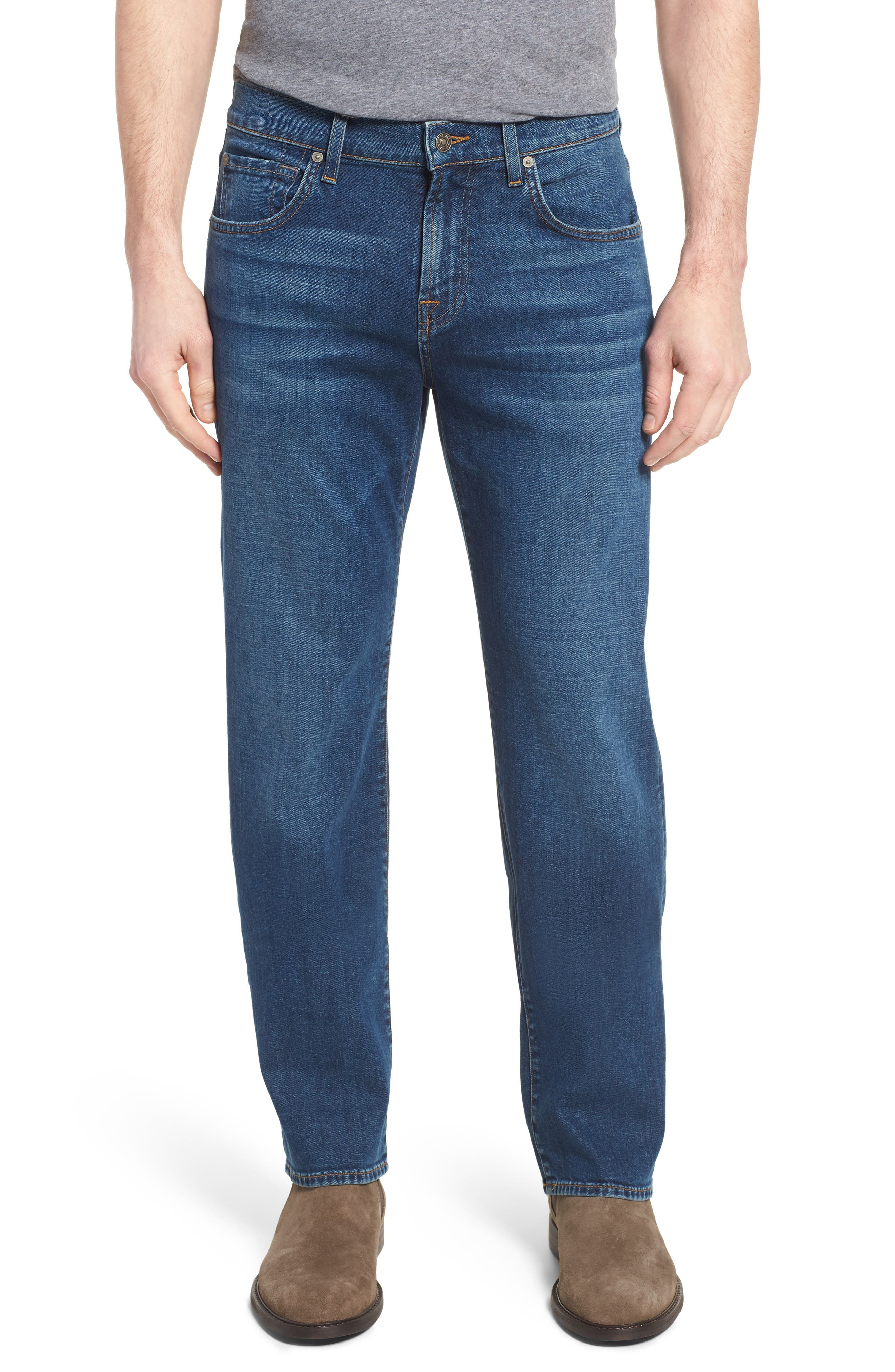 Austyn Relaxed Fit Jeans,                         Main,                         color, Oasis