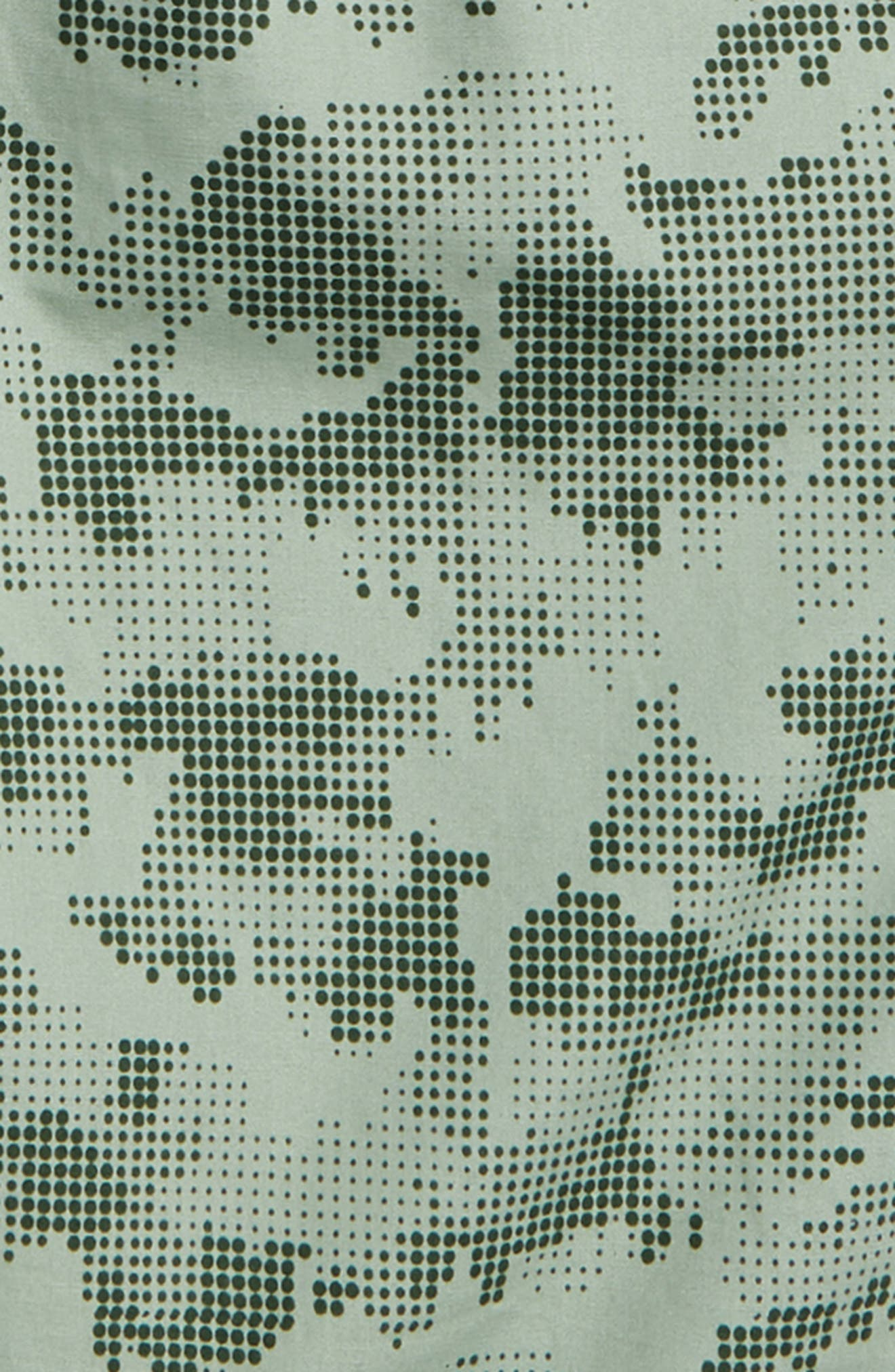 Print Pull-On Shorts,                             Alternate thumbnail 2, color,                             Clay Green