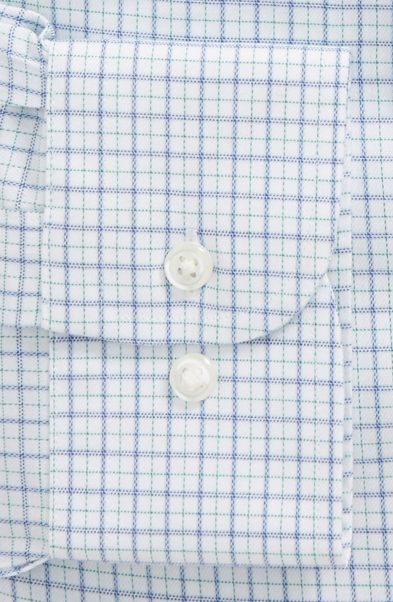 Smartcare<sup>™</sup> Traditional Fit Check Dress Shirt,                             Alternate thumbnail 2, color,                             Green Pepper