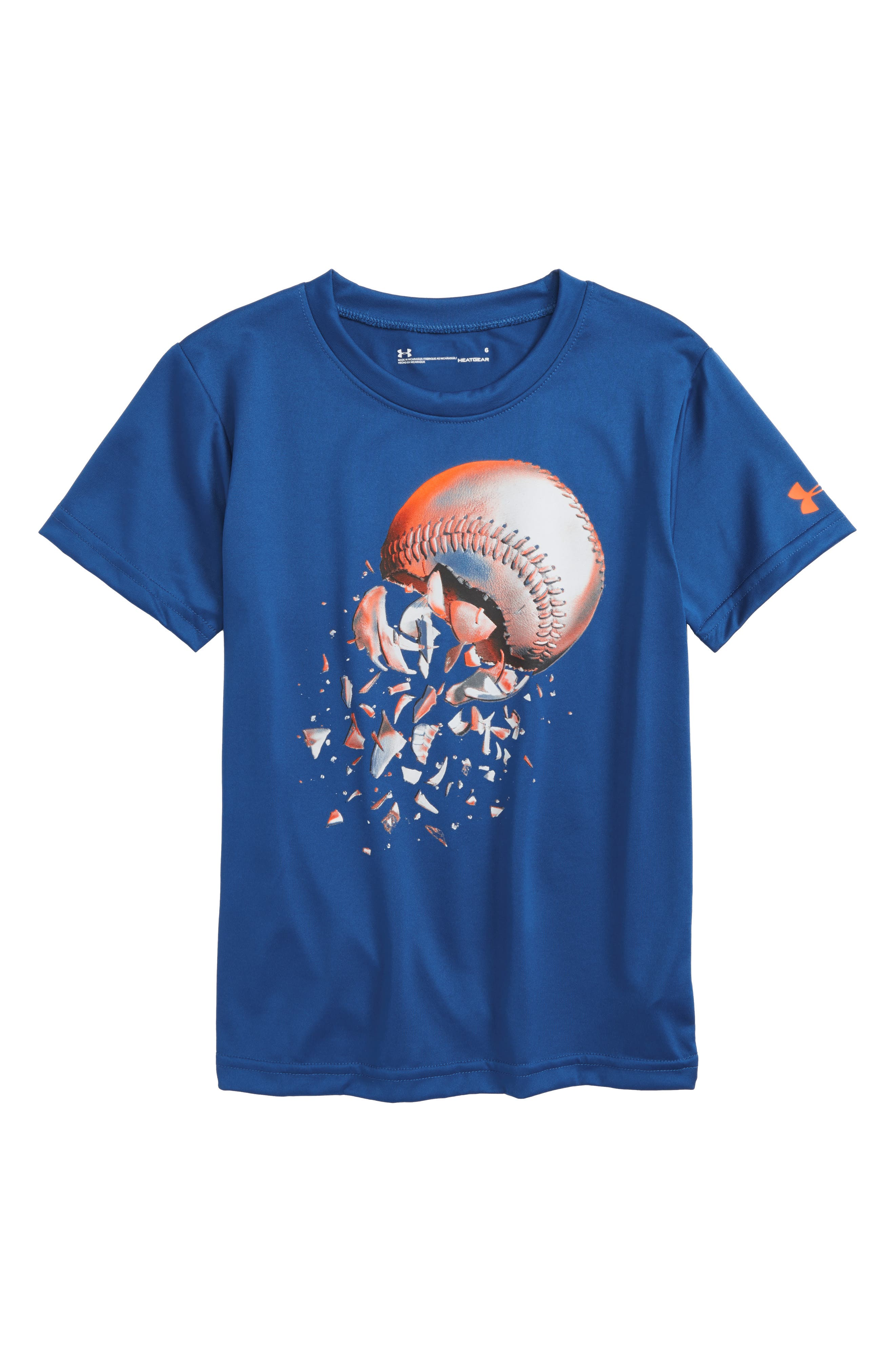 Under Armour Baseball Explosion HeatGear® T-Shirt (Toddler Boys & Little Boys)