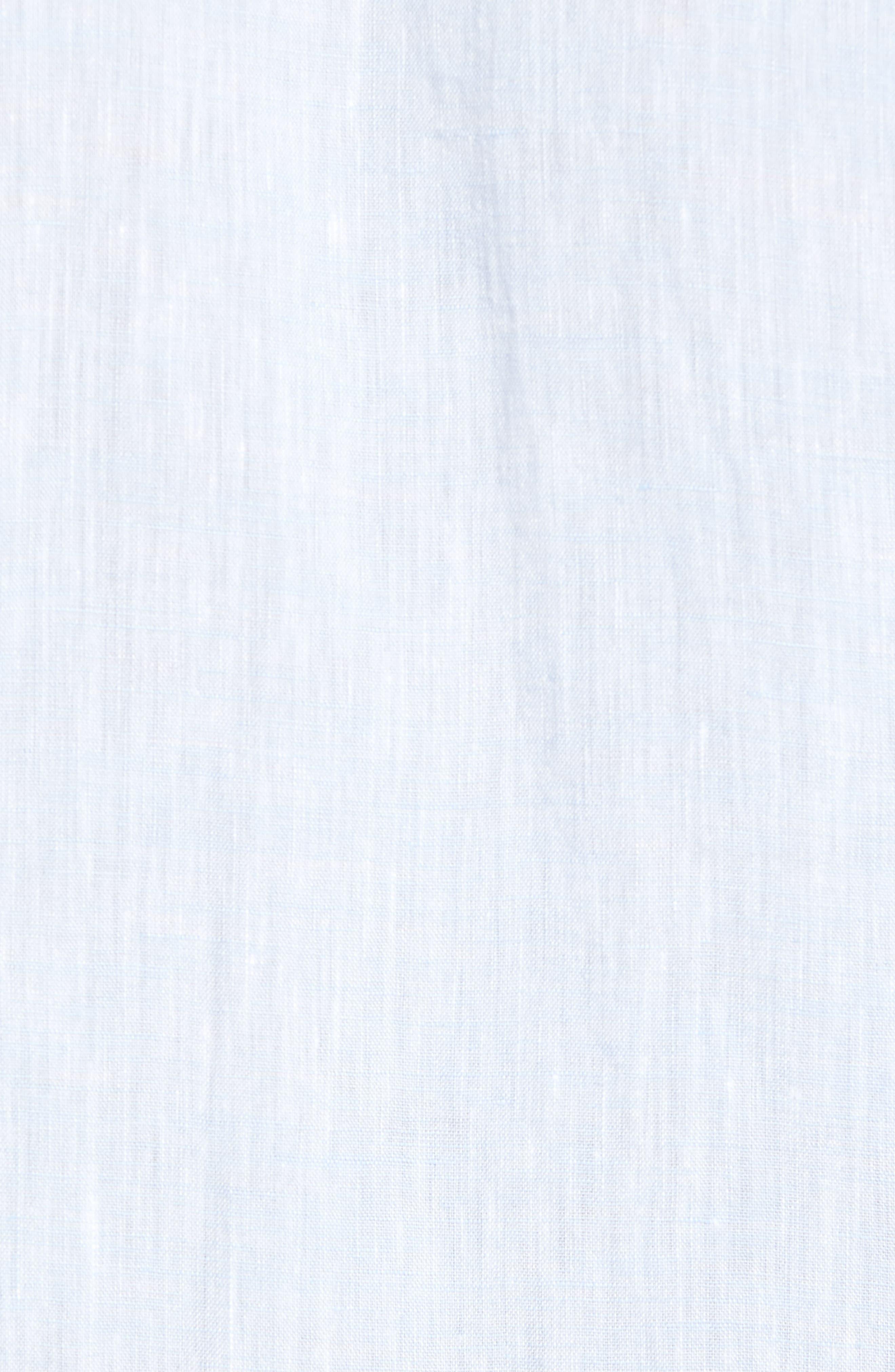 Luka Slim Fit Sport Shirt,                             Alternate thumbnail 5, color,                             Blue