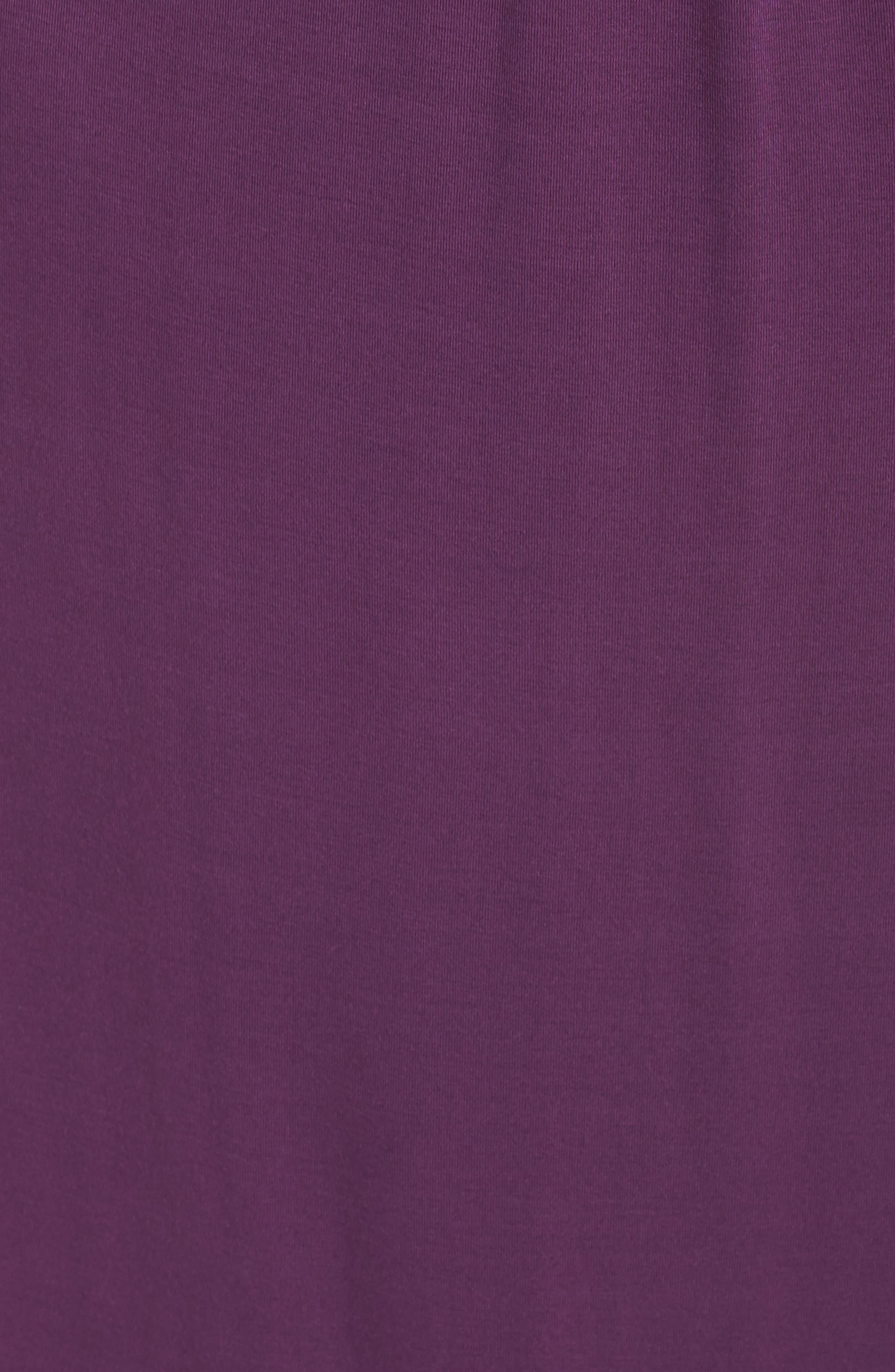 Surplice Maxi Dress,                             Alternate thumbnail 5, color,                             Purple Dark
