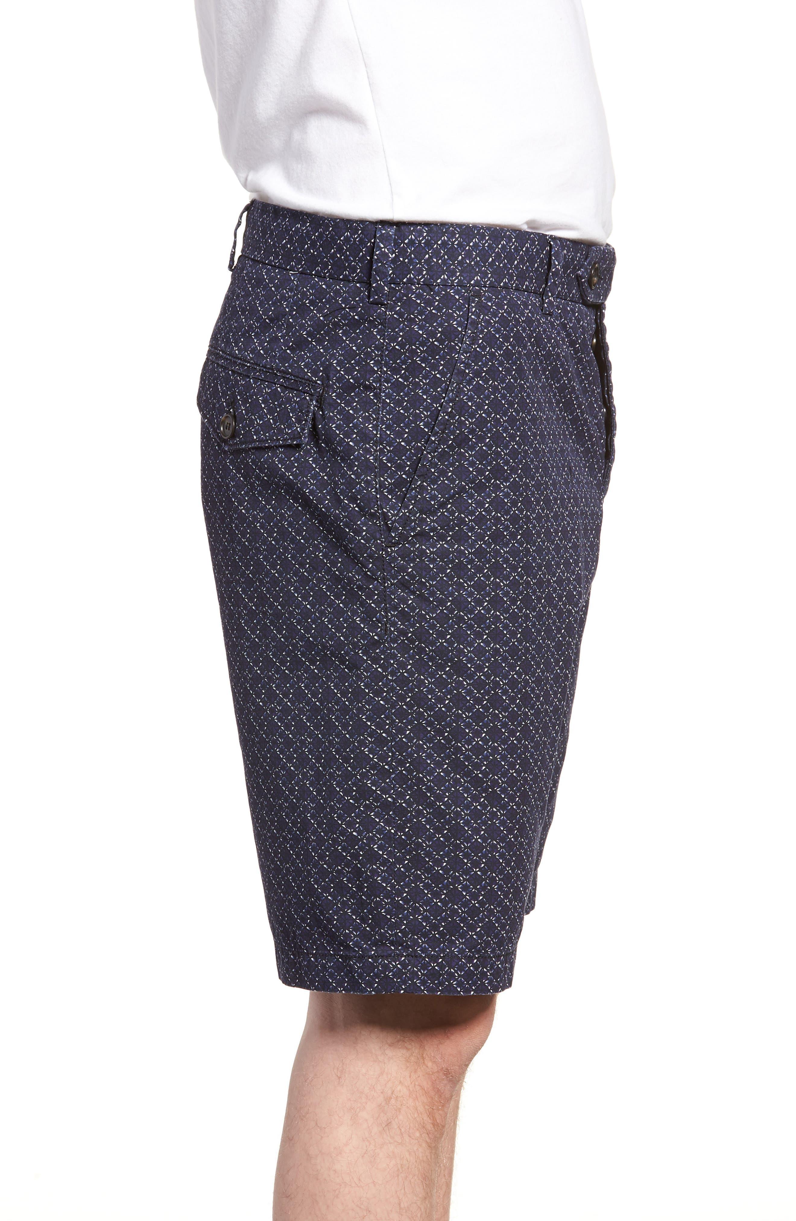 Kast Tile Shorts,                             Alternate thumbnail 3, color,                             Deep Cobalt