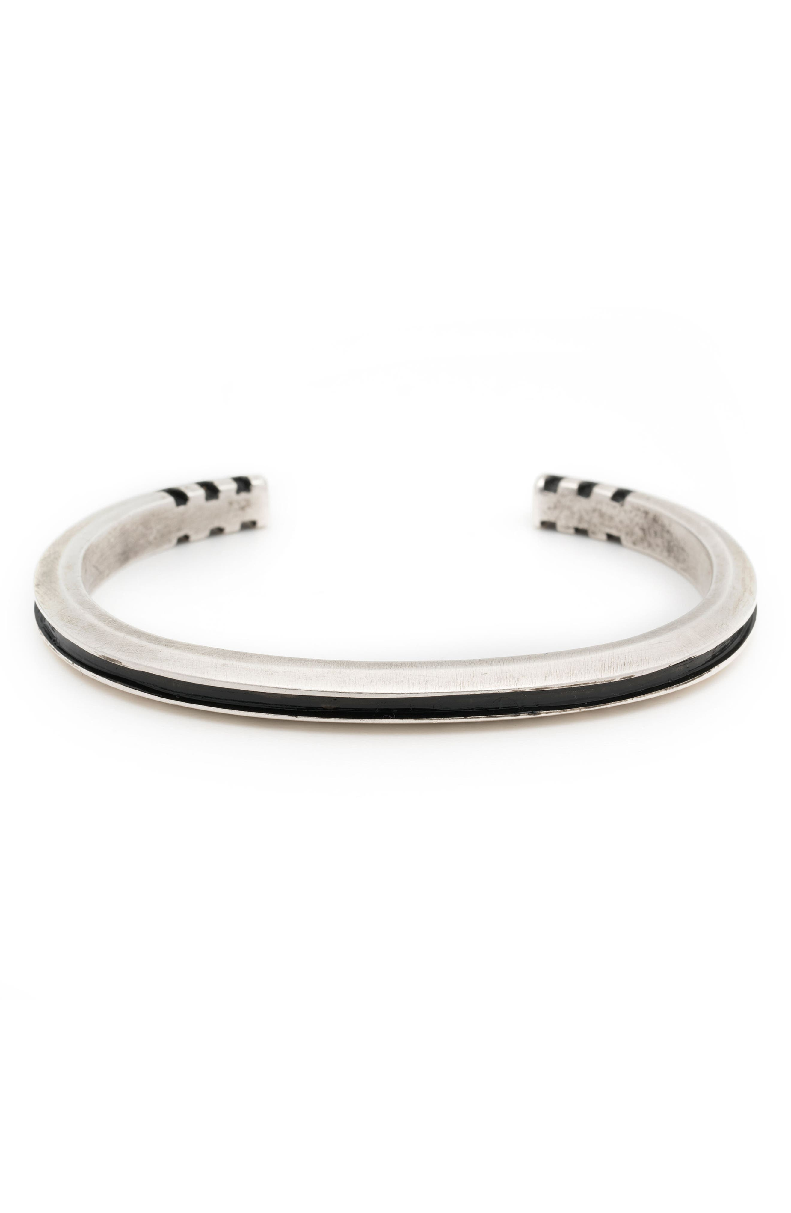 Totality Cuff Bracelet,                             Alternate thumbnail 2, color,                             Silver