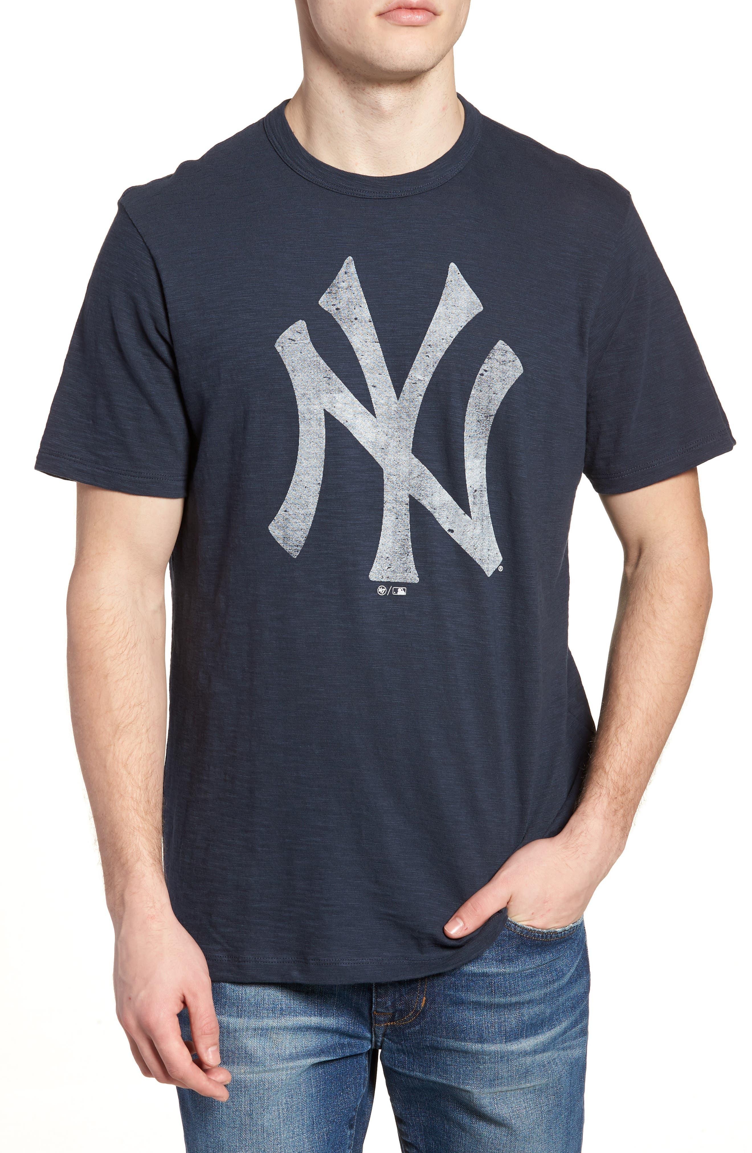 MLB Grit Scrum New York Yankees T-Shirt,                             Main thumbnail 1, color,                             Midnight