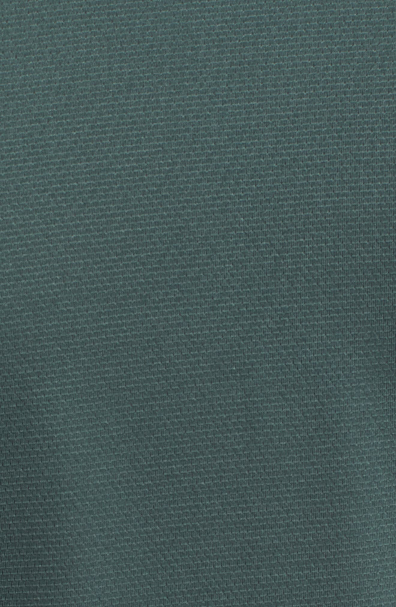 Pro Utility Fitted Training Top,                             Alternate thumbnail 5, color,                             Vintage Green/ Black