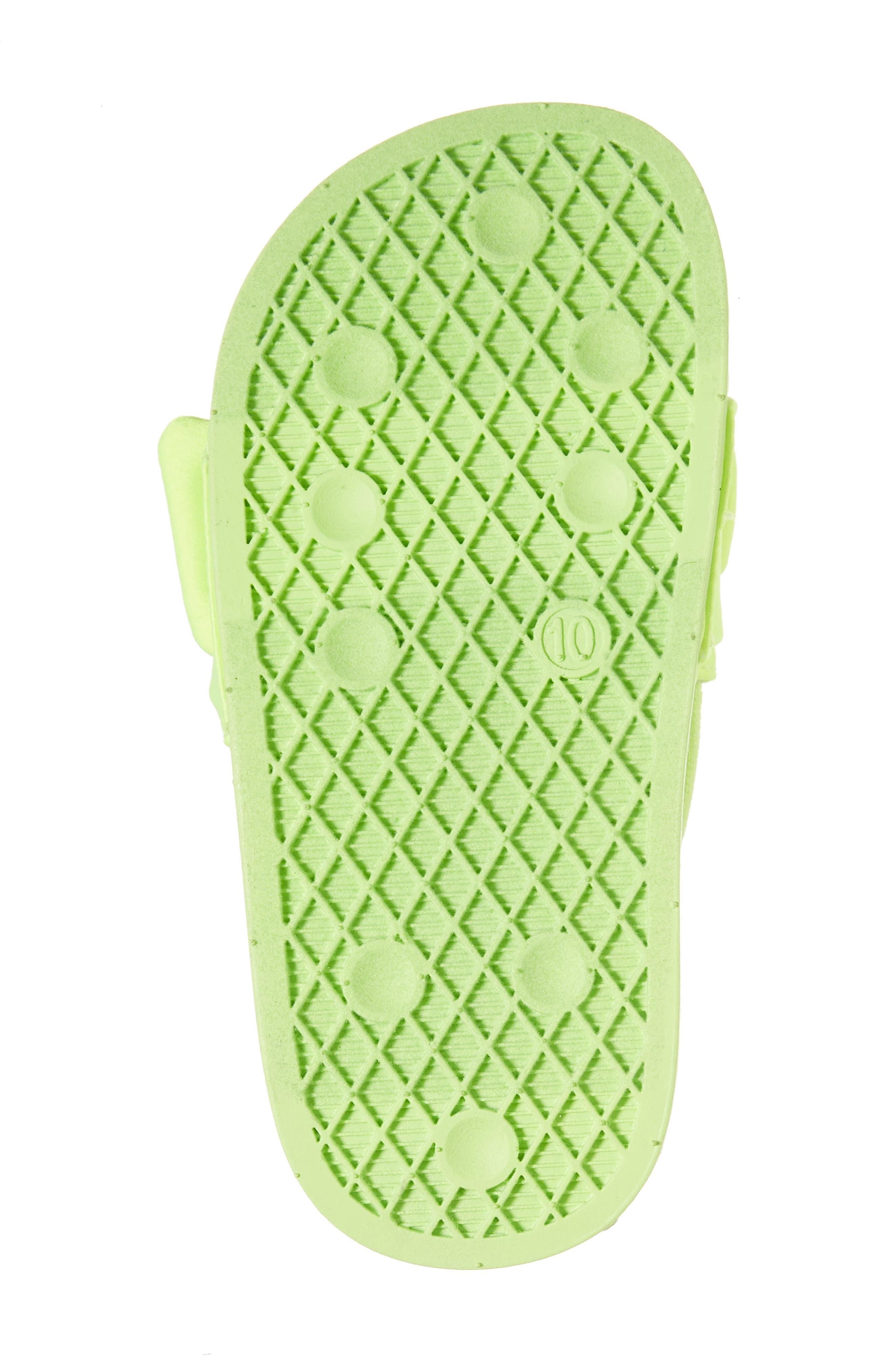 Tsilky Knotted Slide Sandal,                             Alternate thumbnail 6, color,                             Citron