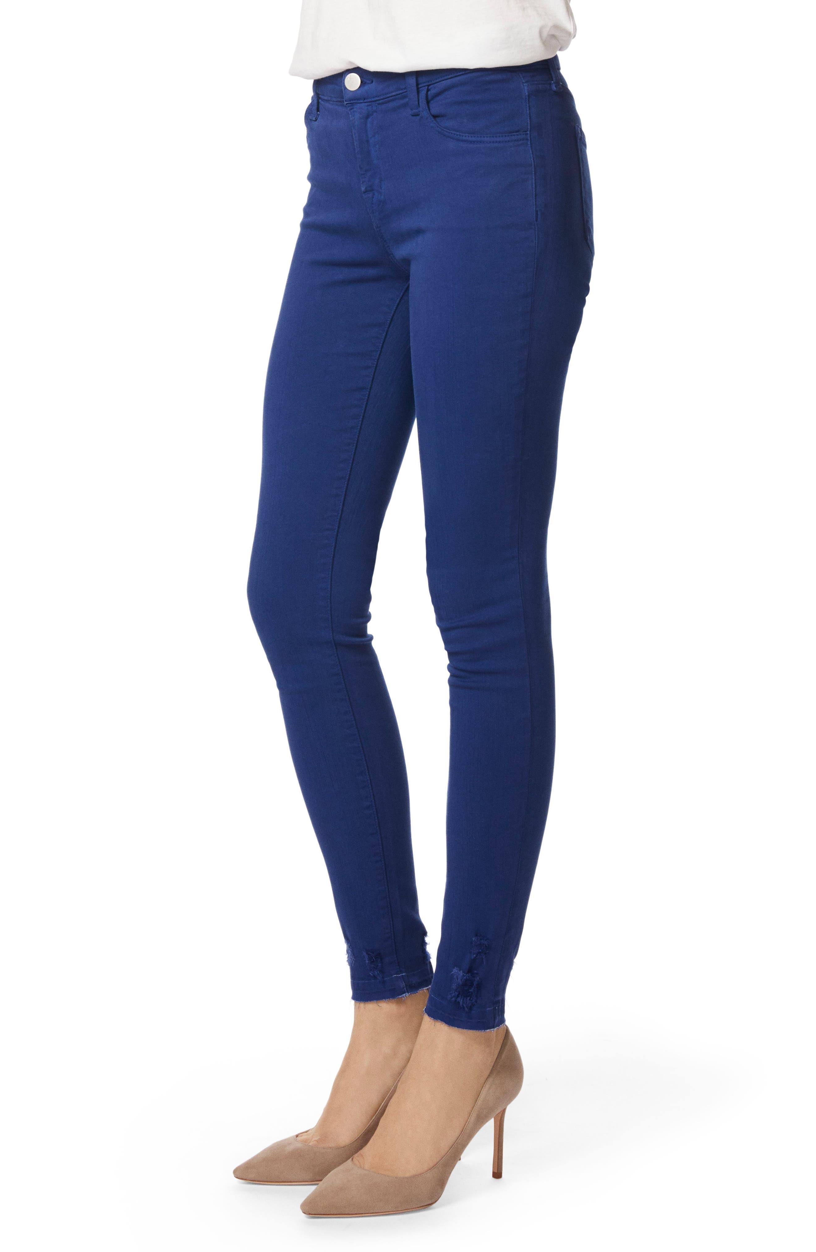 620 Mid Rise Super Skinny Jeans,                             Alternate thumbnail 3, color,                             Electric Sea Destruct