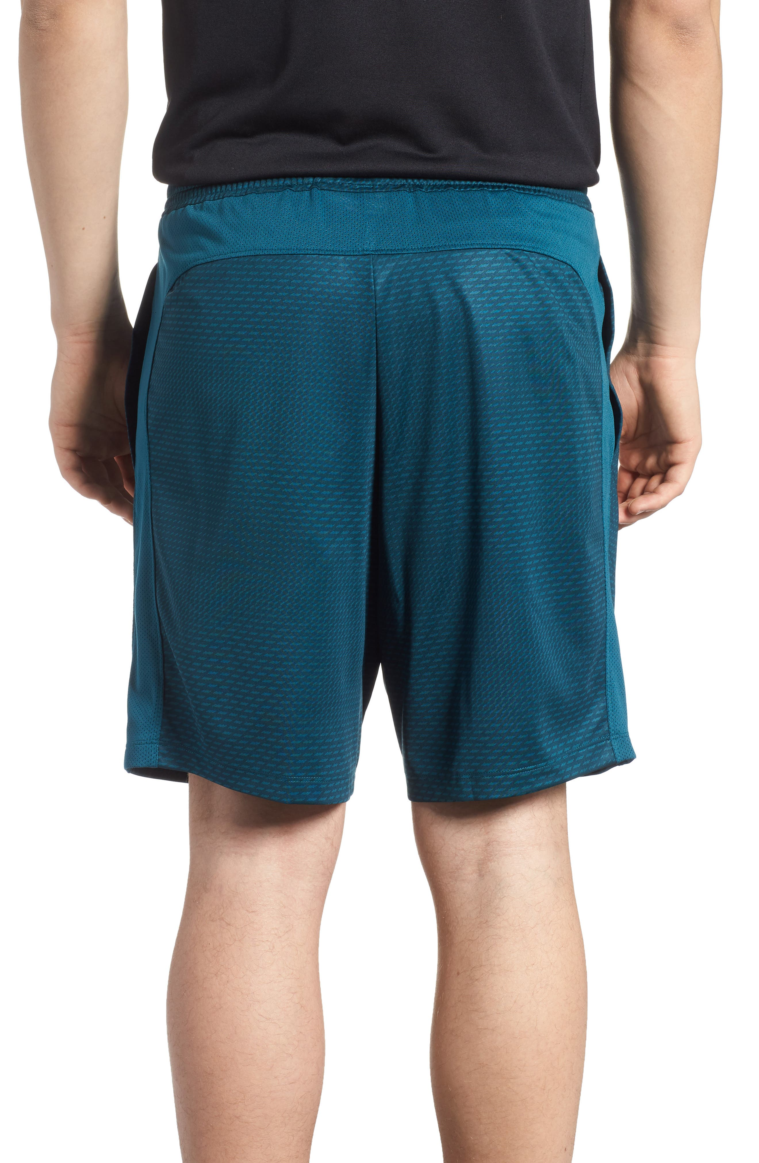 Raid 2.0 Classic Fit Shorts,                             Alternate thumbnail 2, color,                             Tourmaline Teal/ Stealth Gray