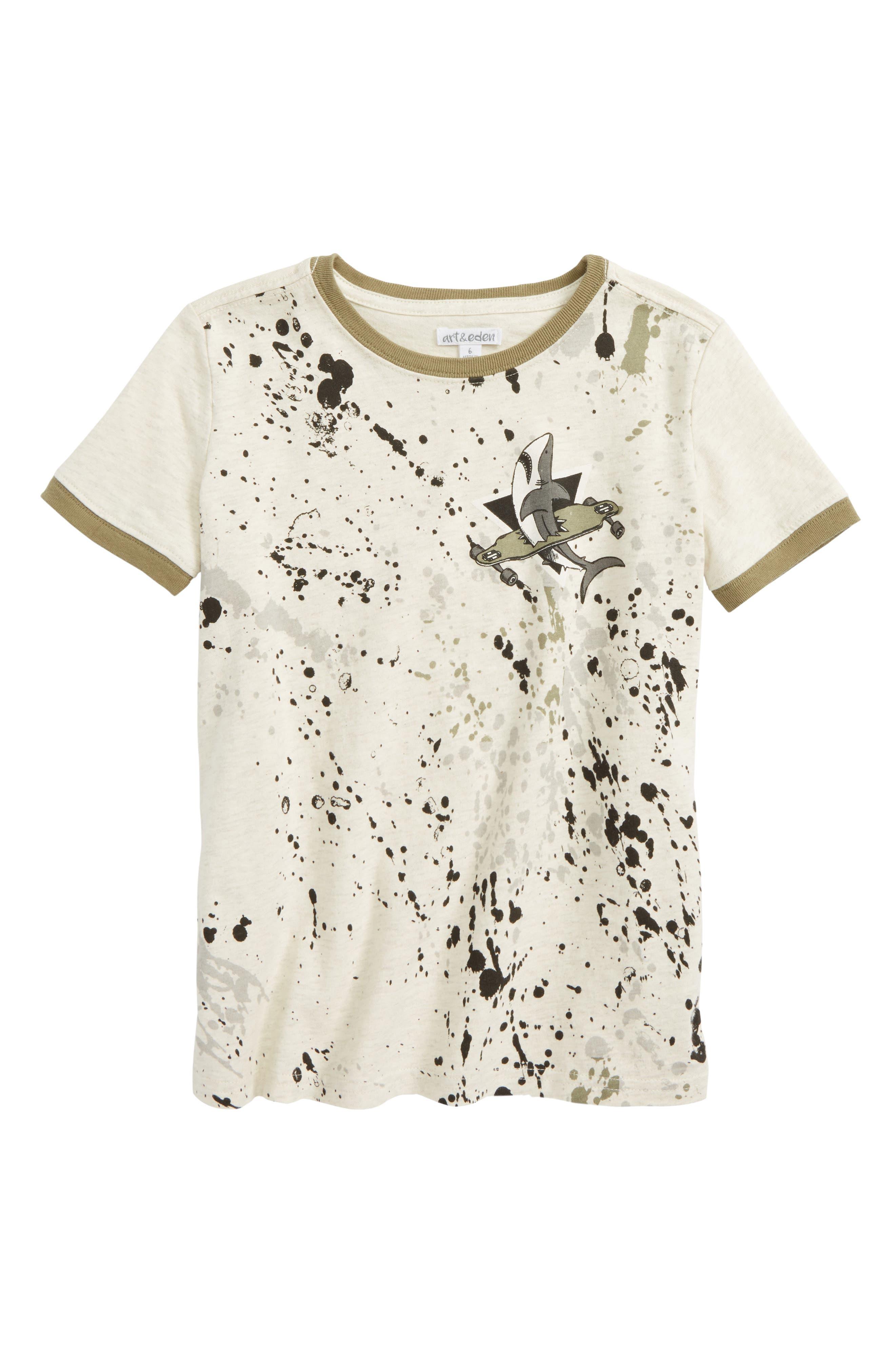 John Ringer T-Shirt,                             Main thumbnail 1, color,                             Oatmeal