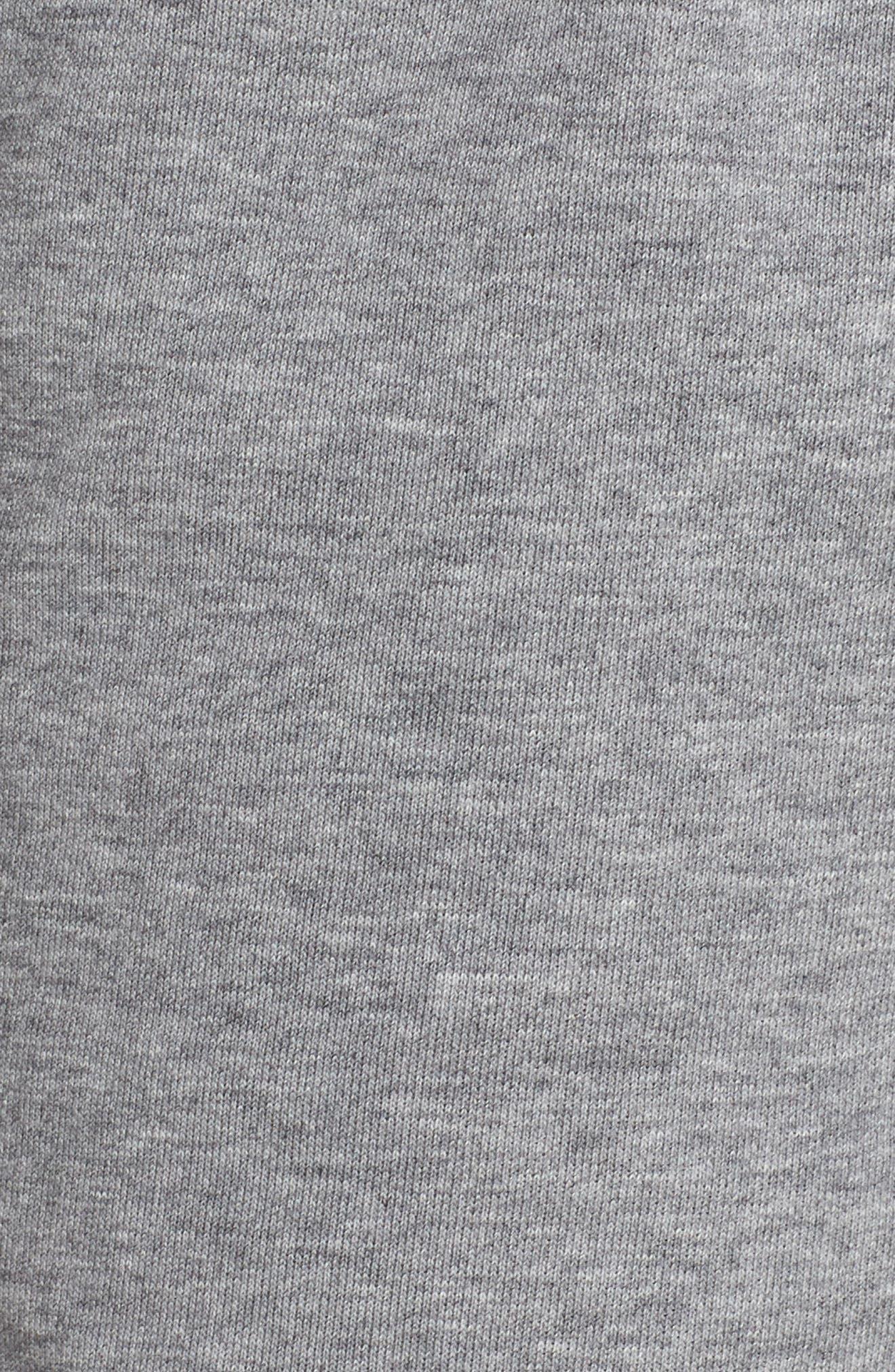 Sportswear Air Gym Shorts,                             Alternate thumbnail 7, color,                             Carbon Heather/ White/ Black