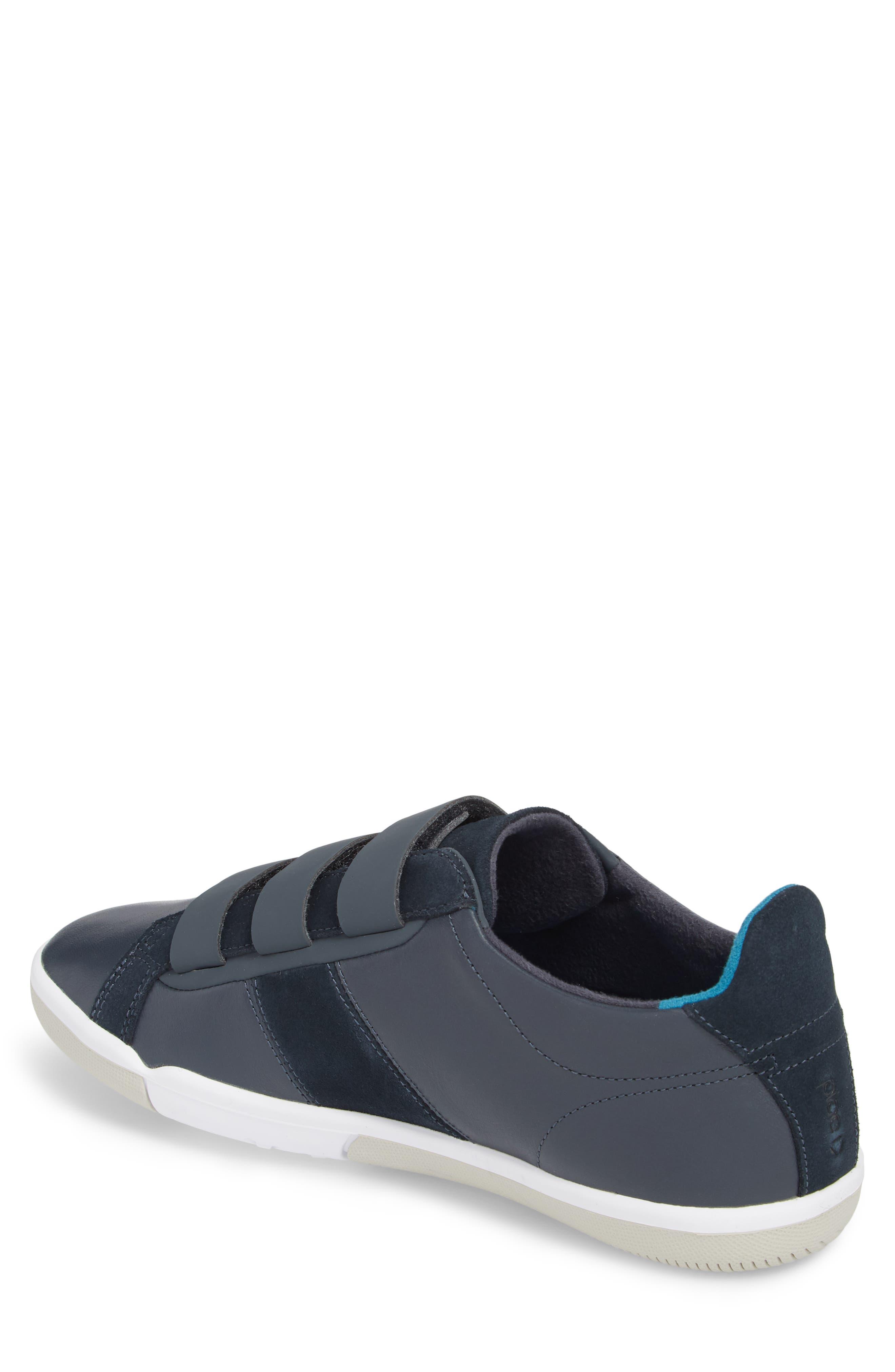 Larkin Low Top Sneaker,                             Alternate thumbnail 2, color,                             Blue Nights