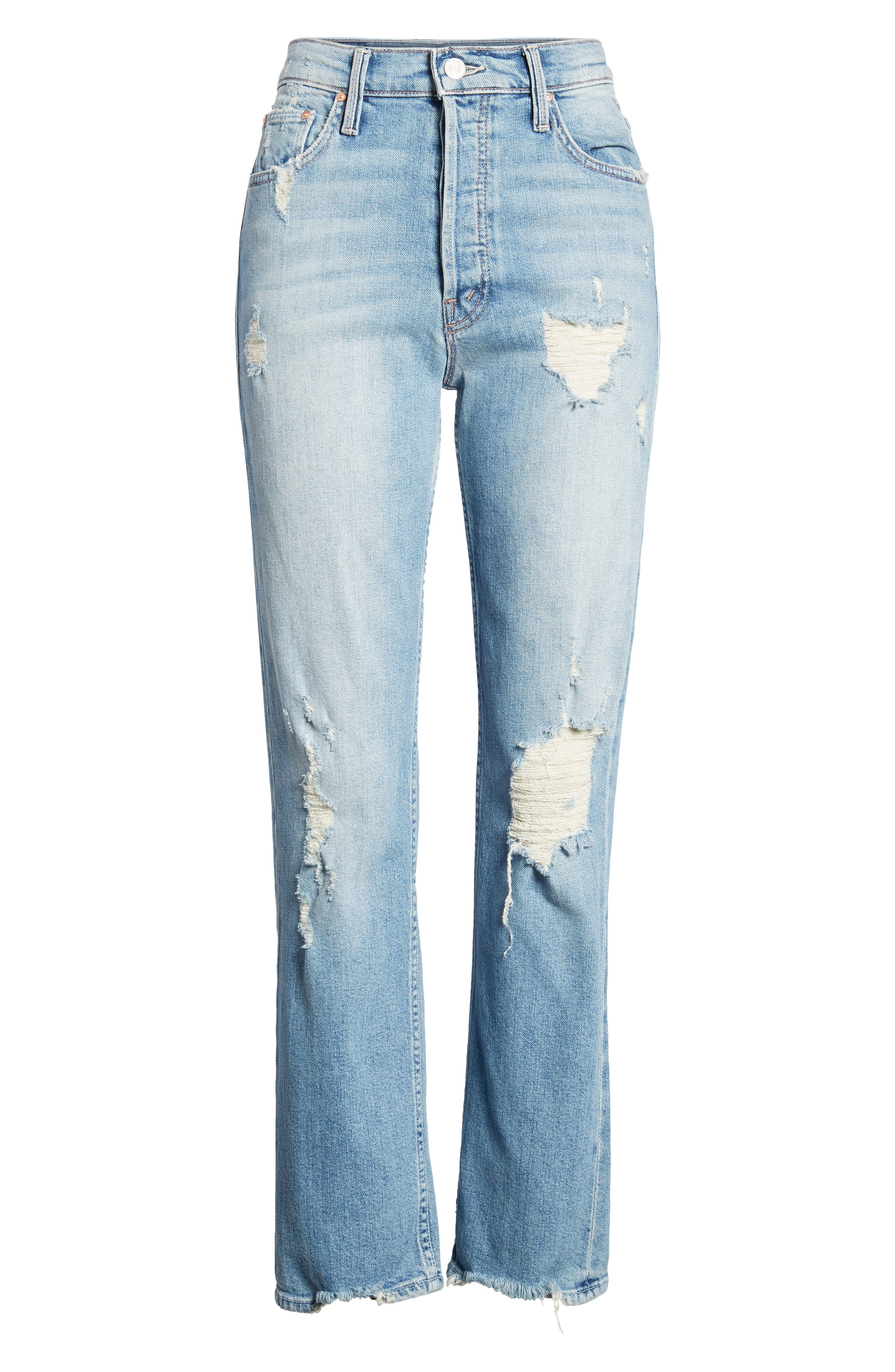 The Tomcat Ankle Straight Leg Jeans,                             Alternate thumbnail 7, color,                             Quite Contrary