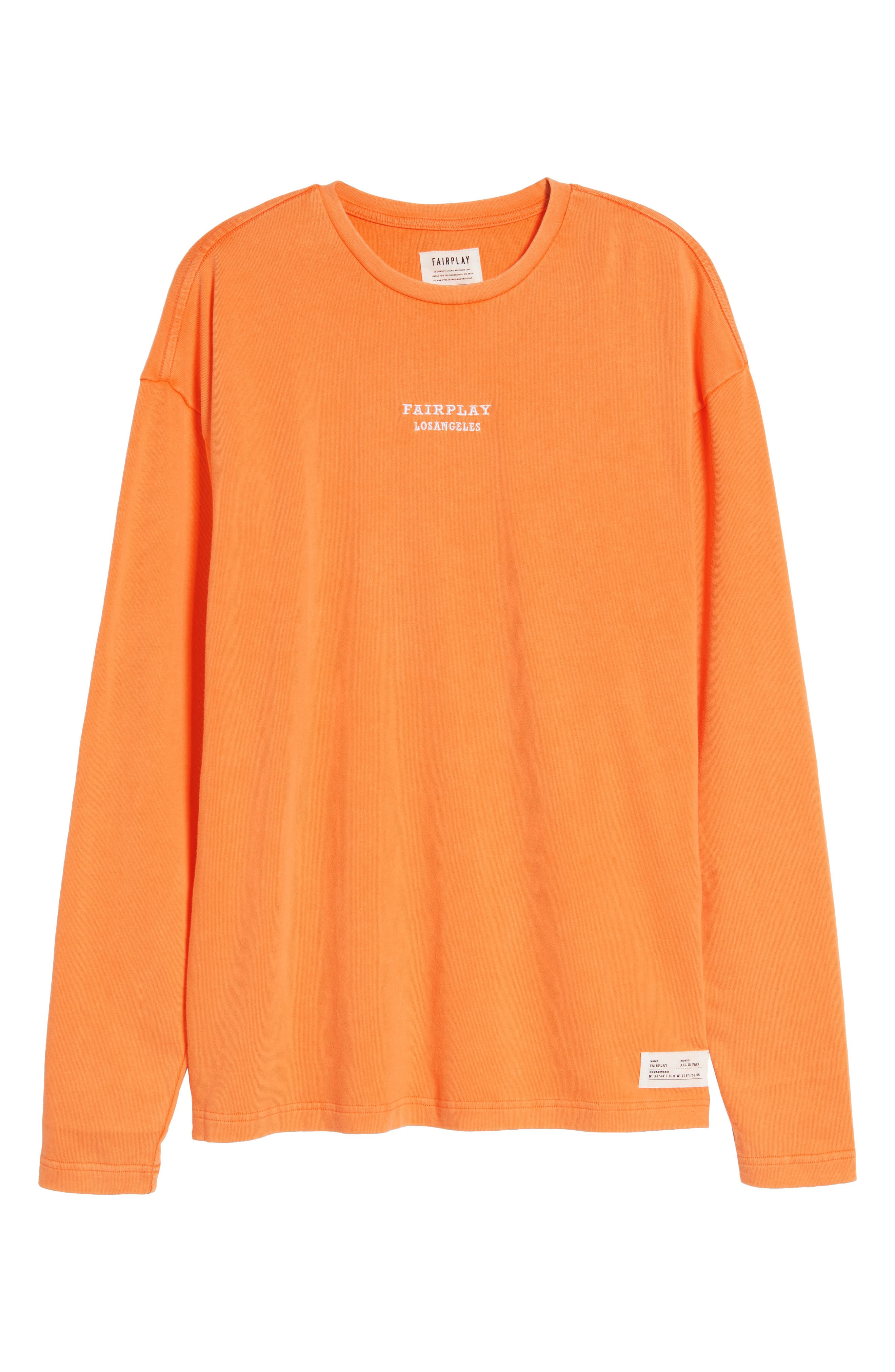 Anderson Sweatshirt,                             Alternate thumbnail 6, color,                             Orange