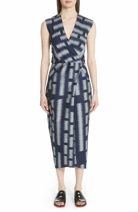 Zero Maria Cornejo Block Jacquard Dress