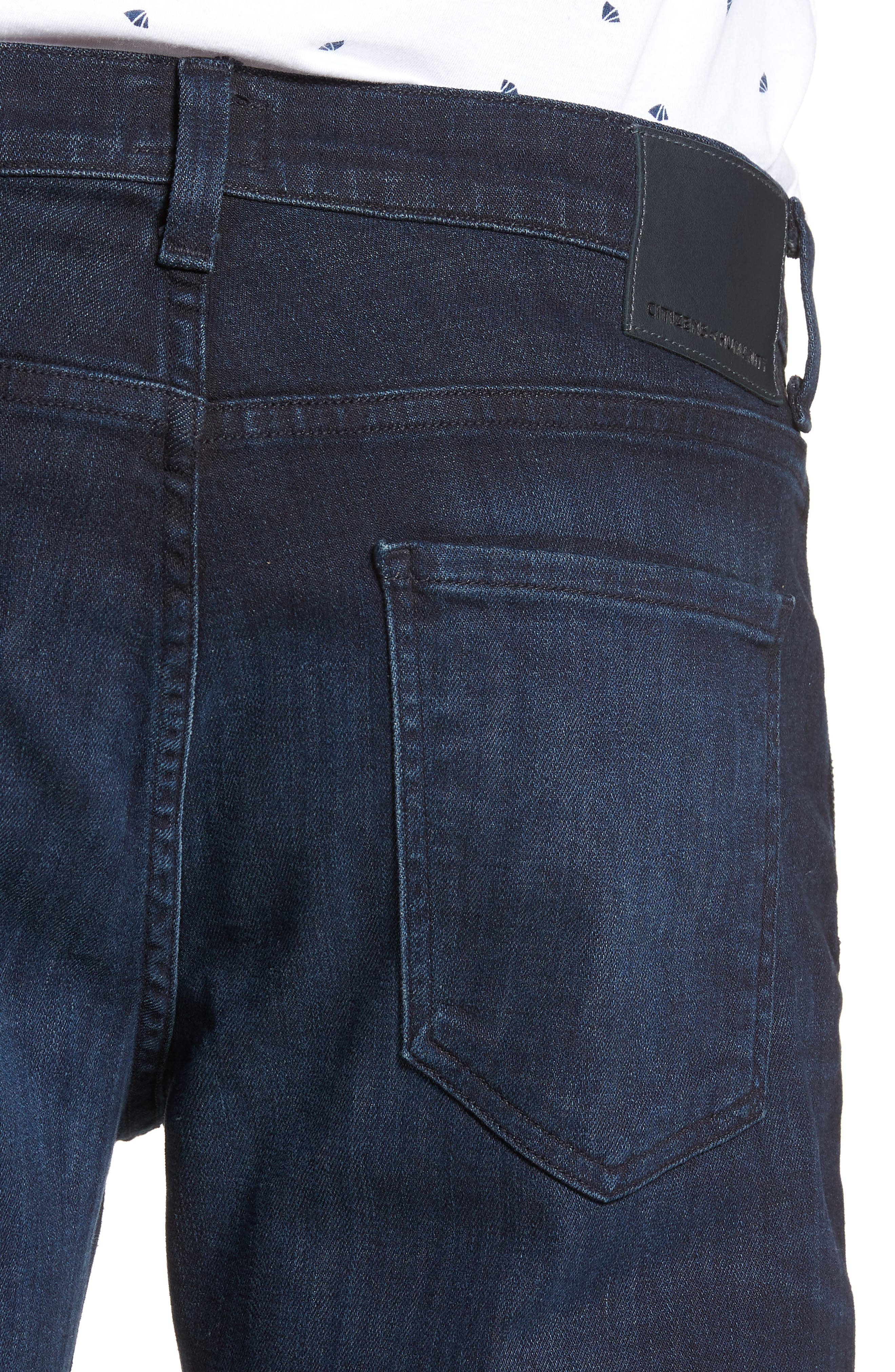Gage Slim Straight Leg Jeans,                             Alternate thumbnail 4, color,                             Geary
