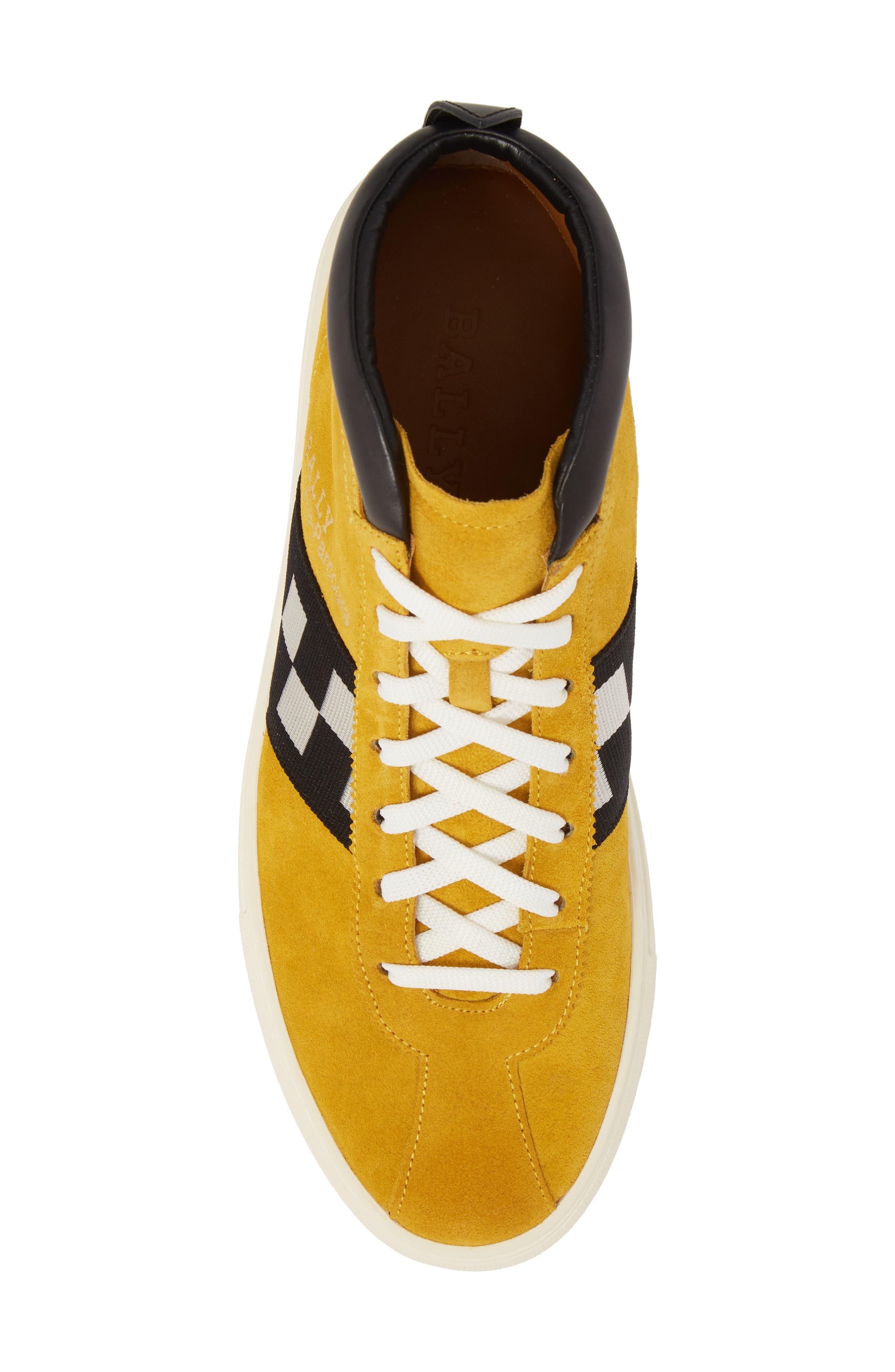 Alternate Image 5  - Bally Vita Checkered High Top Sneaker (Men)