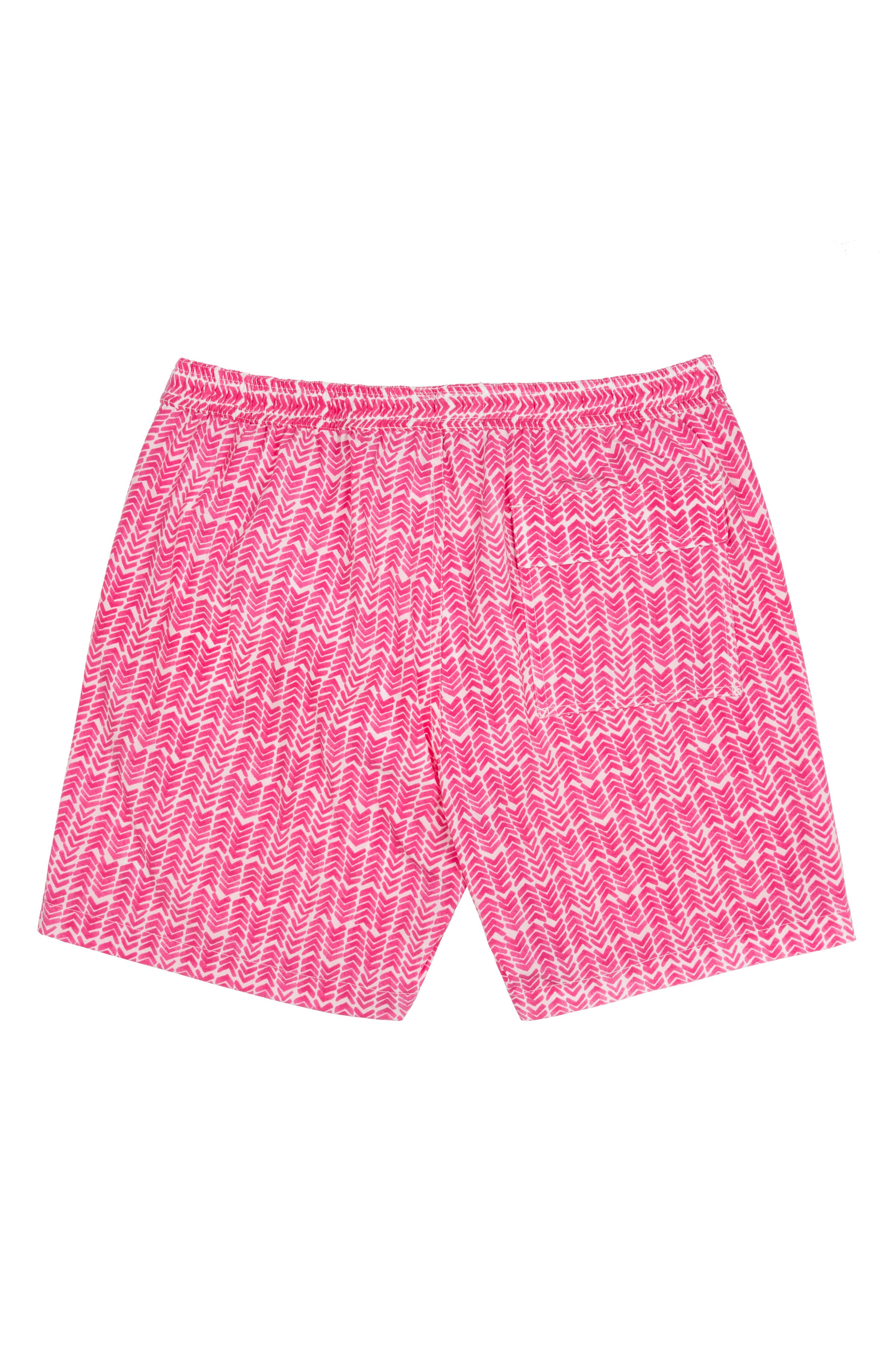 Psycho Bunny Drippy Diamond Swim Trunks (Little Boys & Big Boys)