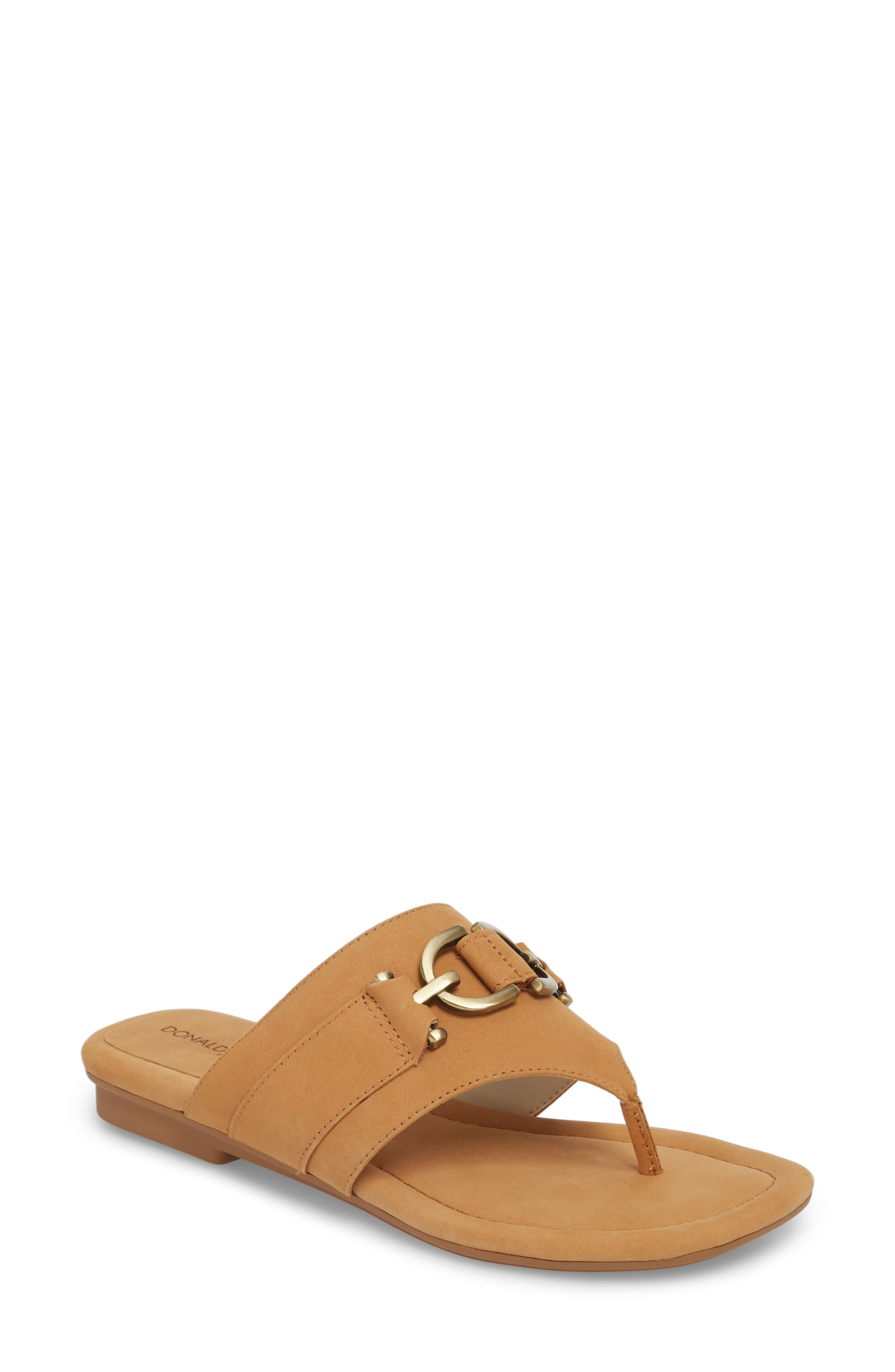Kent Sandal,                         Main,                         color, Fawn Leather
