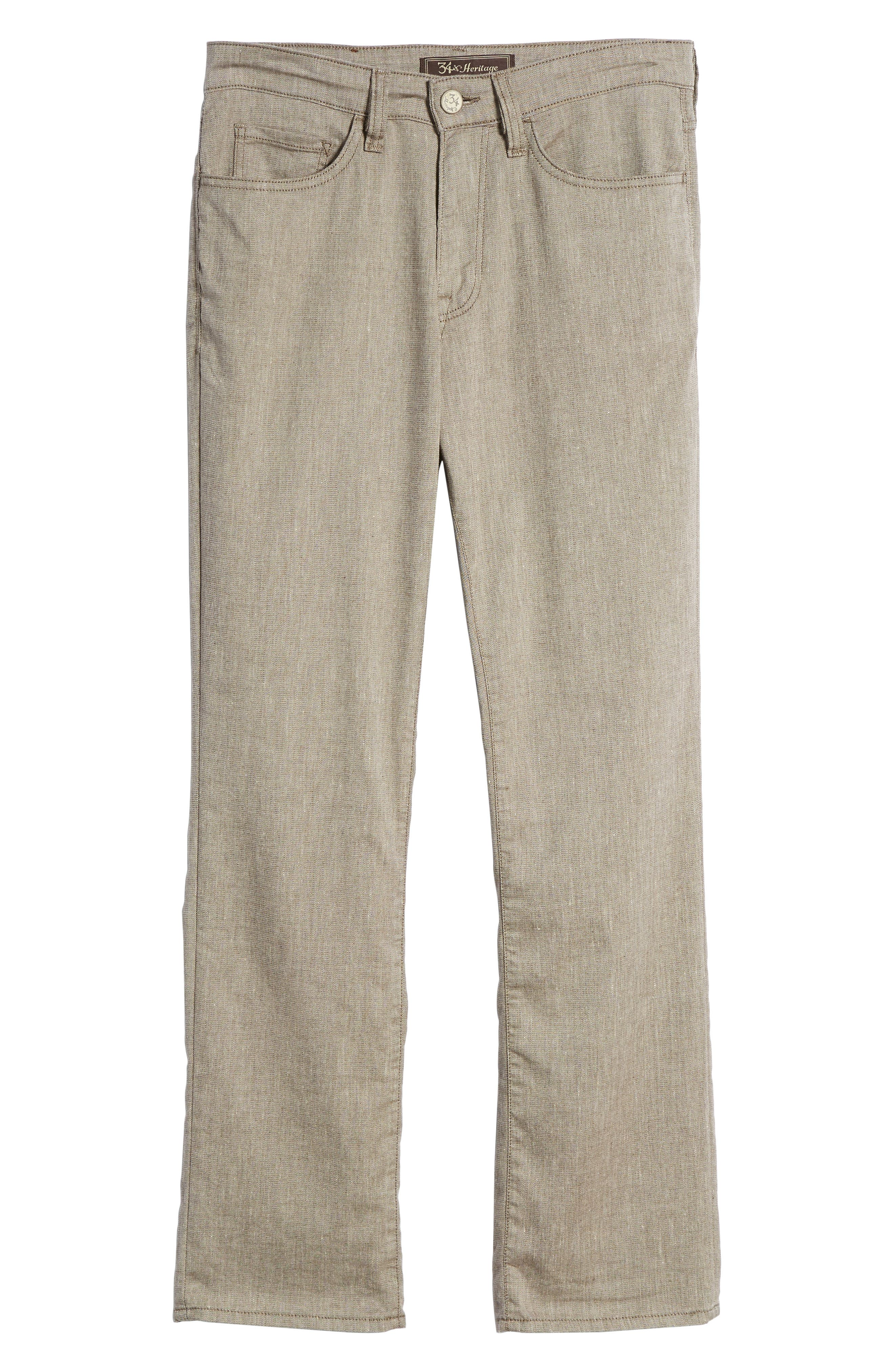 Charisma Relaxed Fit Pants,                             Alternate thumbnail 6, color,                             Latte Textured