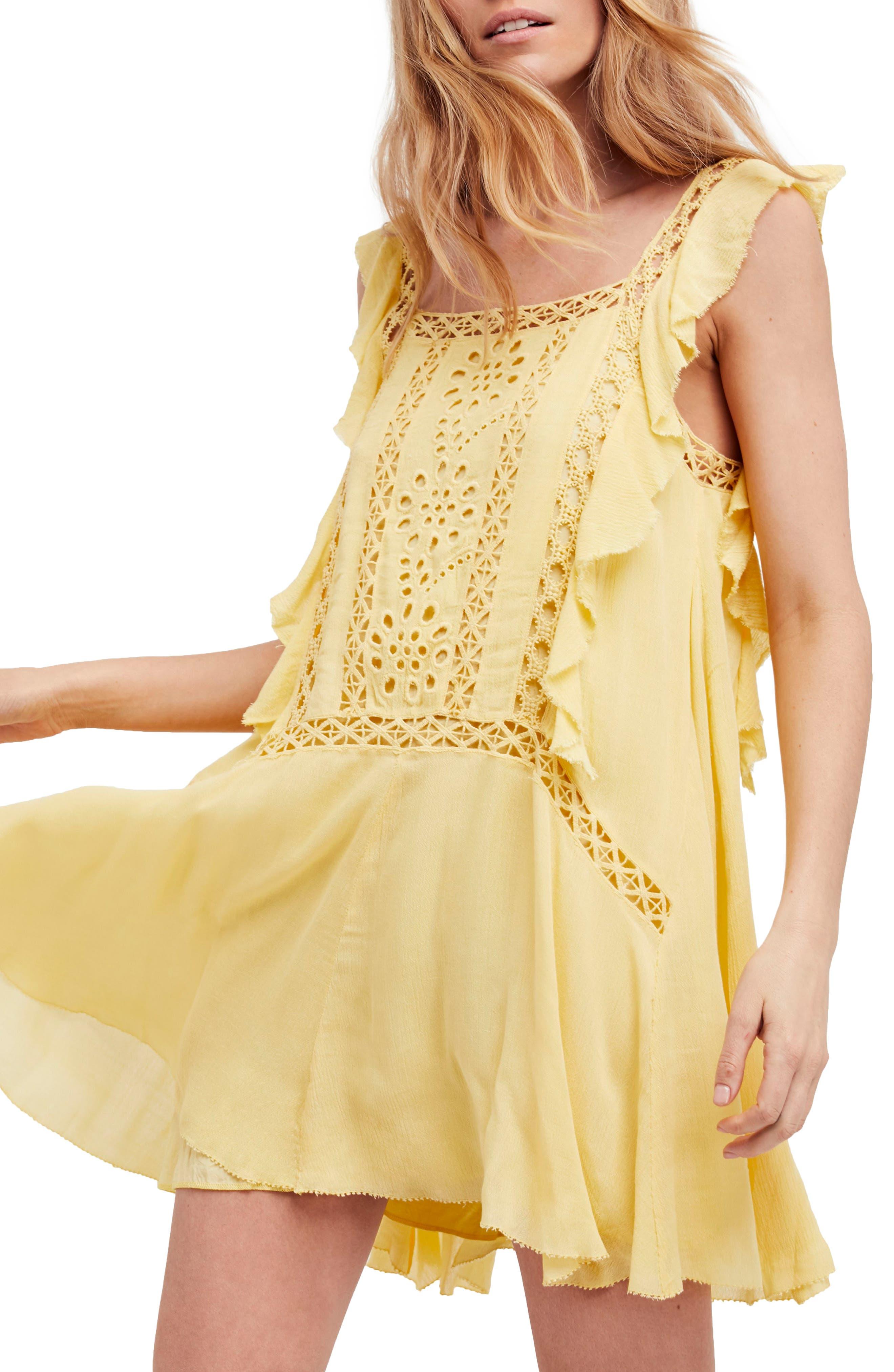 Free People Priscilla Minidress