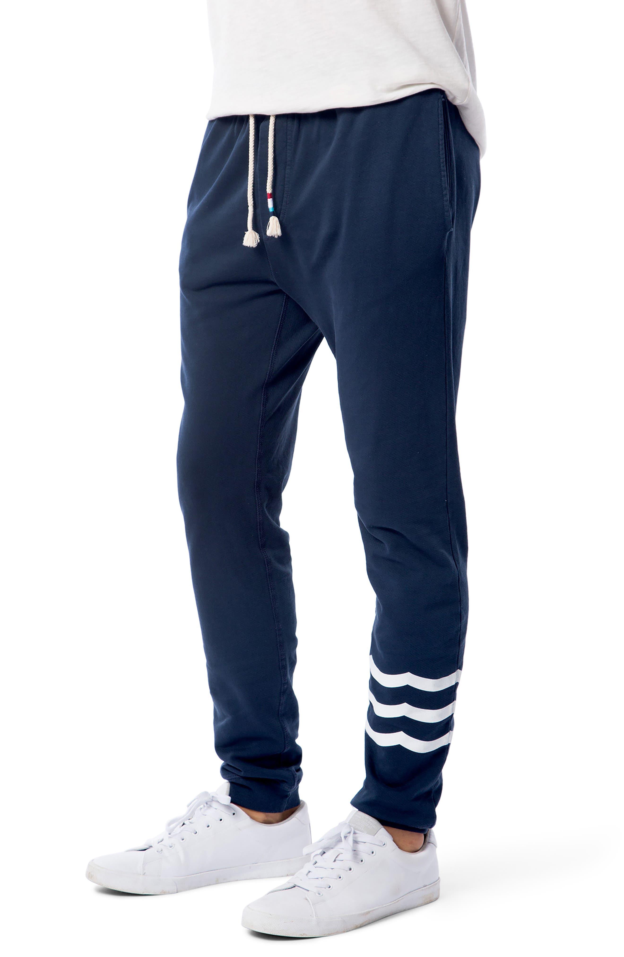 Essential Jogger Pants,                         Main,                         color, Indigo