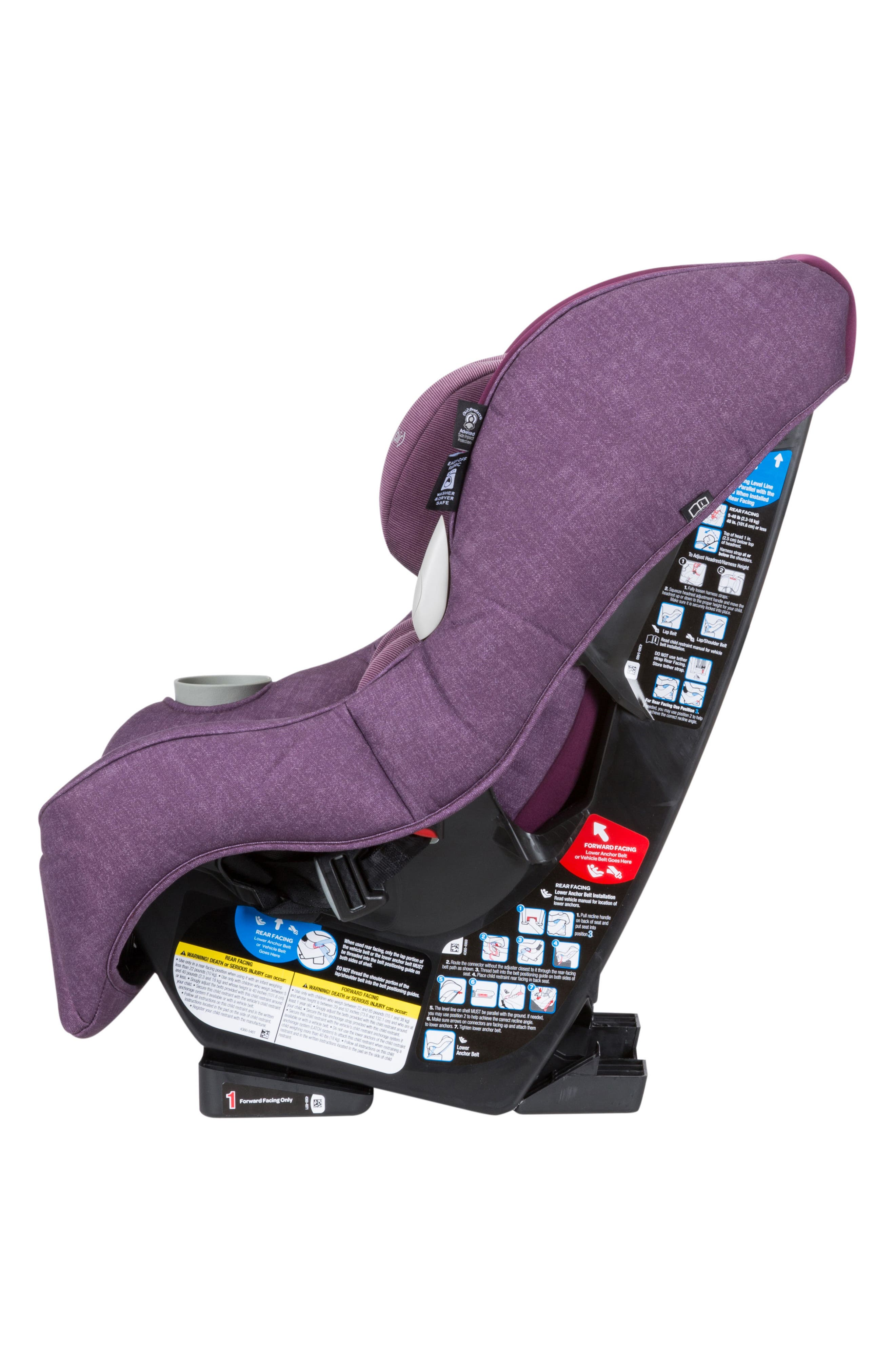 Pria<sup>™</sup> 85 Max Nomad Collection Convertible Car Seat,                             Alternate thumbnail 6, color,                             Nomad Purple