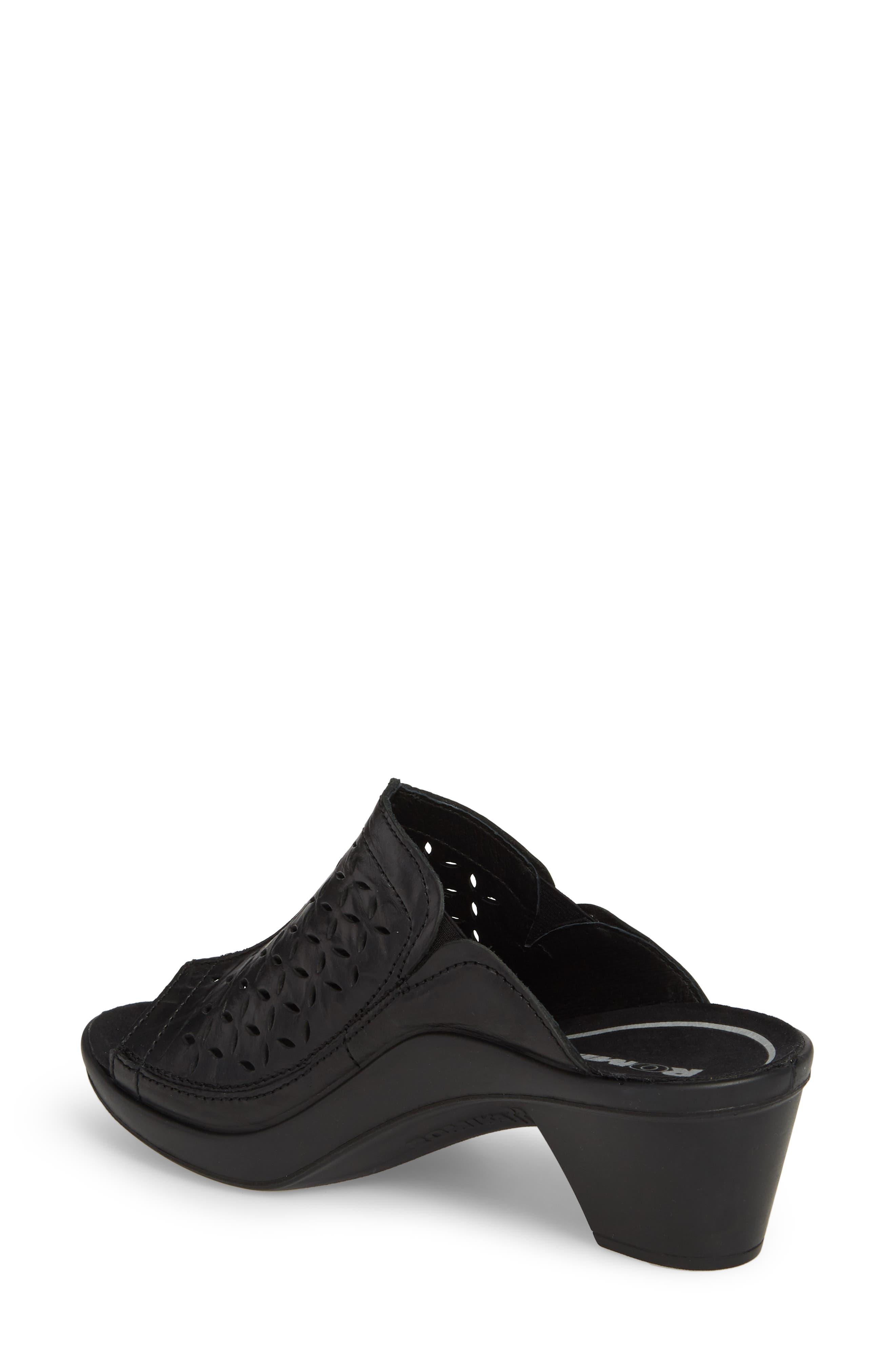 Mokassetta 326 Mule,                             Alternate thumbnail 2, color,                             Black Leather