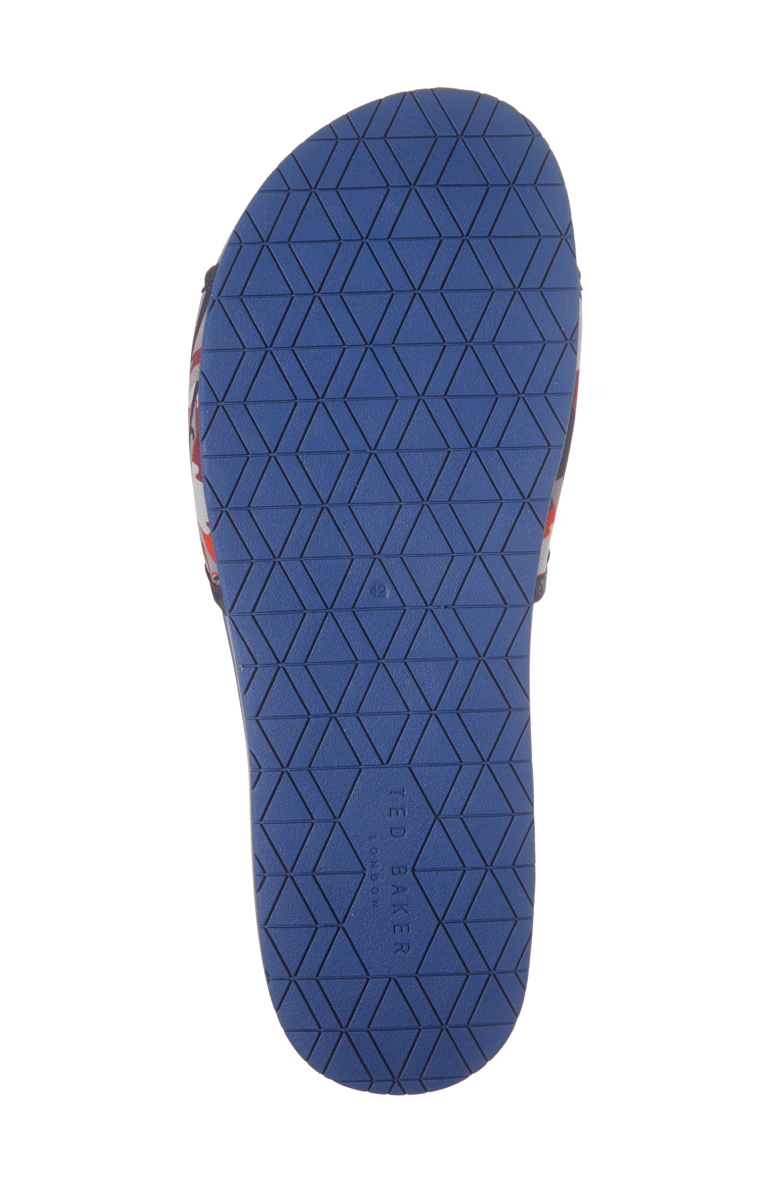 Sauldi 2 Slide Sandal,                             Alternate thumbnail 6, color,                             Dark Blue