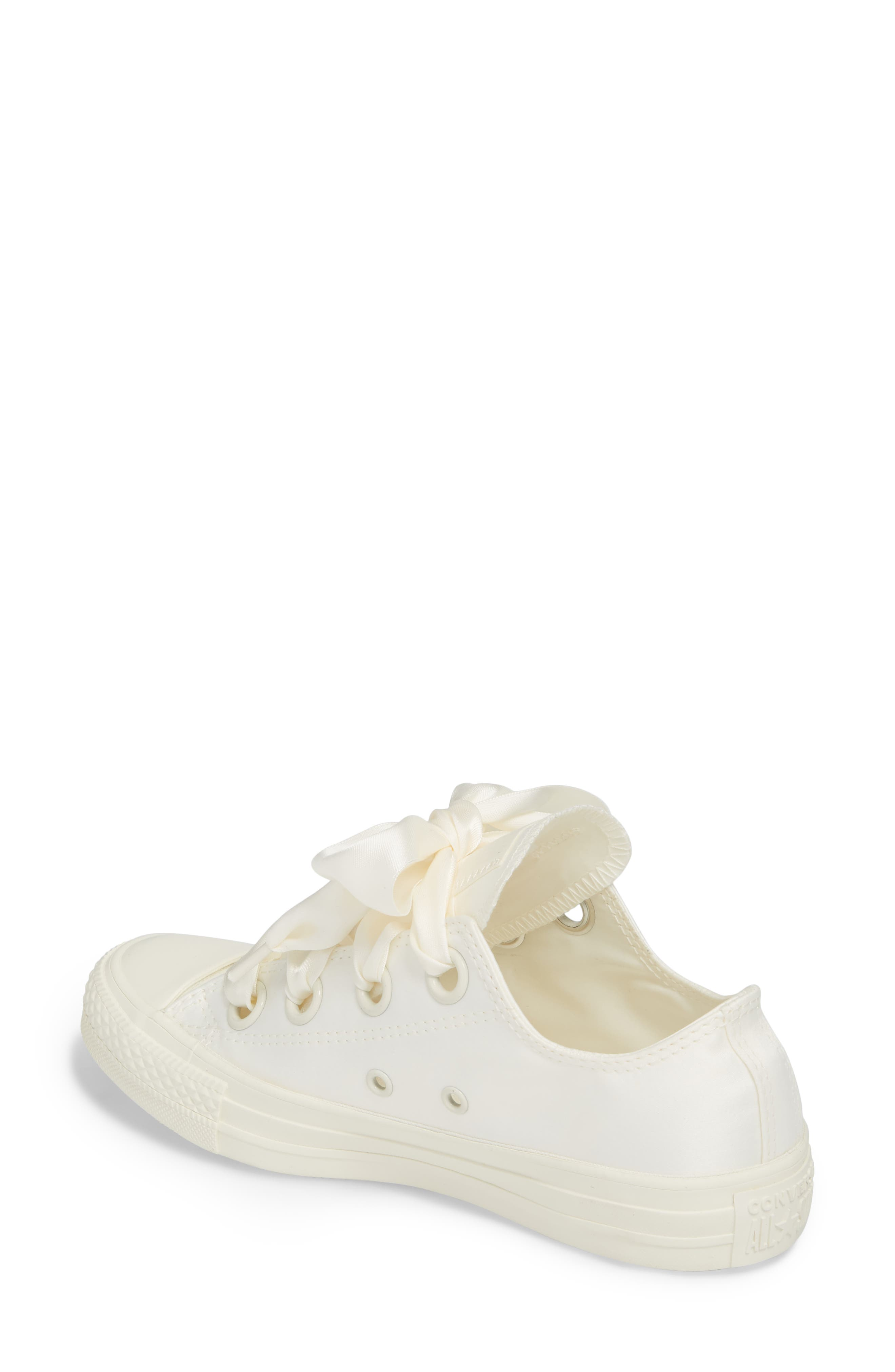 Chuck Taylor<sup>®</sup> All Star<sup>®</sup> Big Eyelet Ox Sneaker,                             Alternate thumbnail 2, color,                             Egret/ Egret